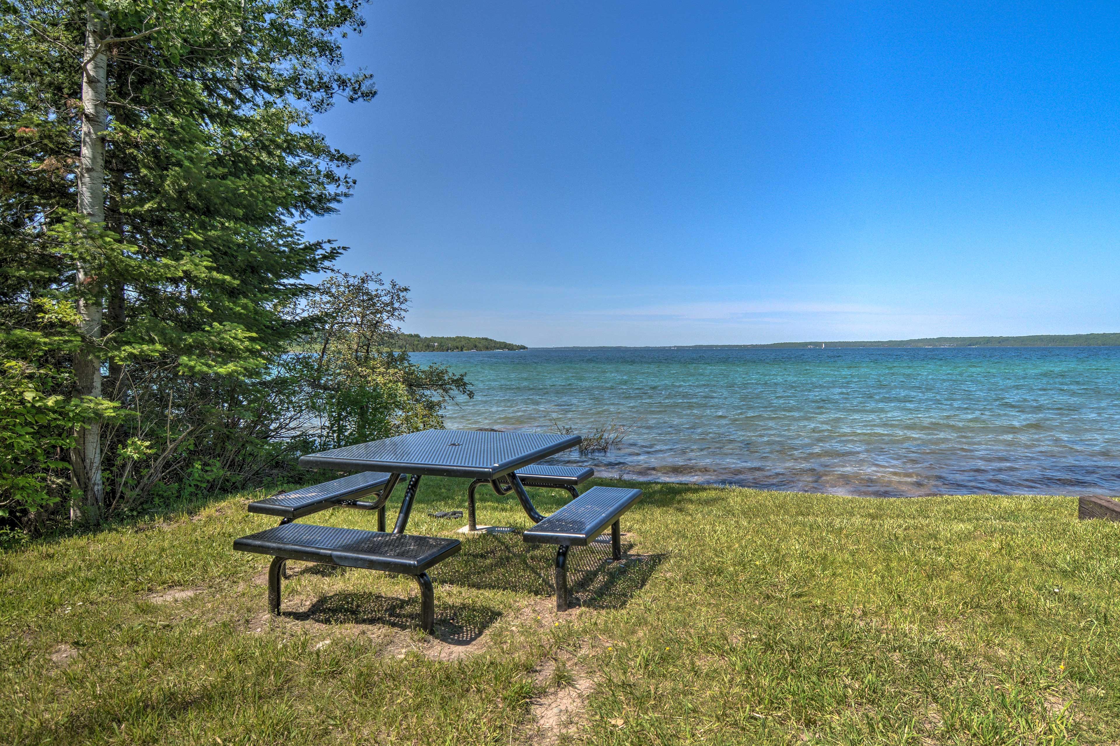 Lake Charlevoix | Short Walk Away