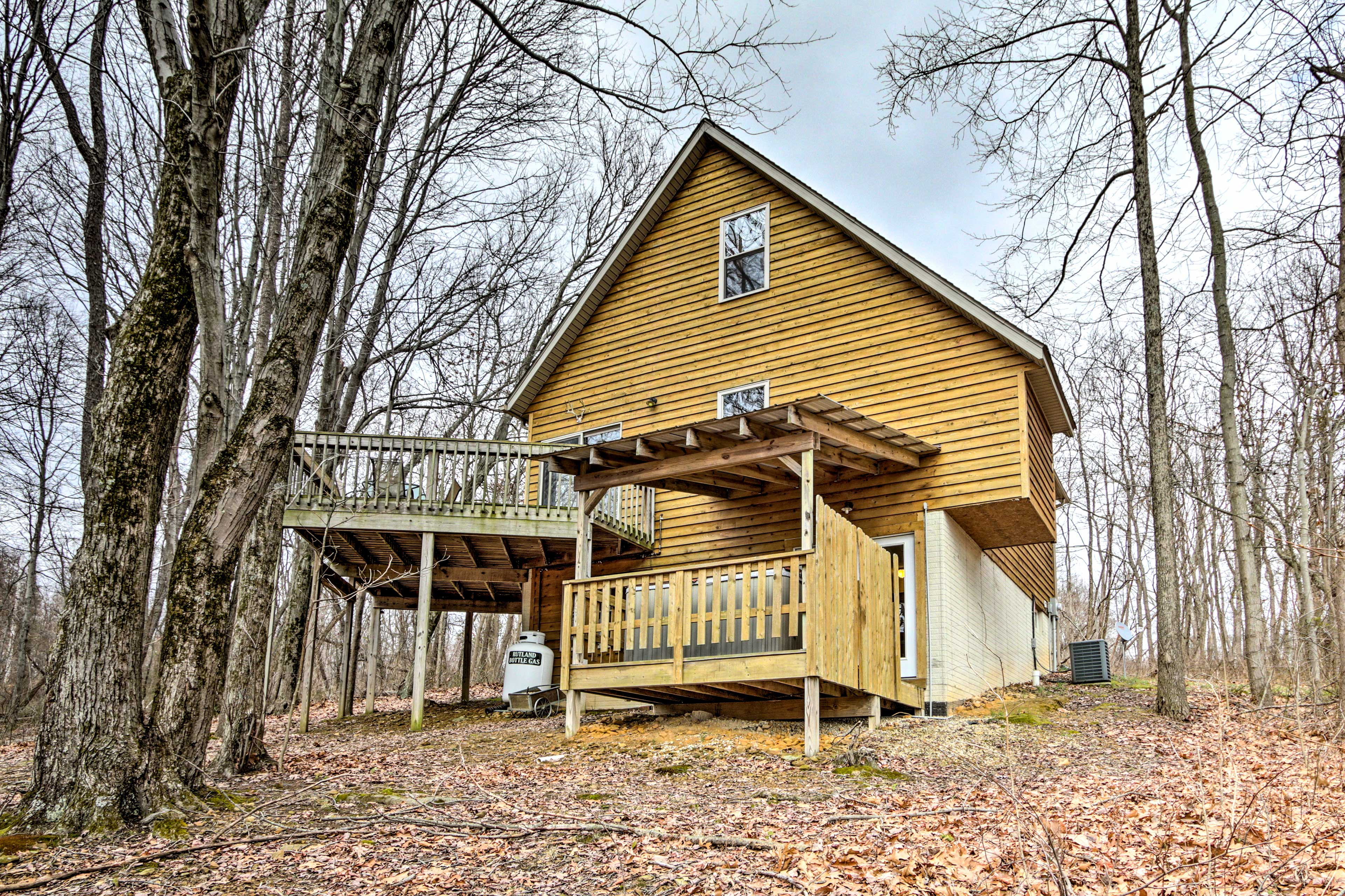Welcome to your vacation rental cabin.