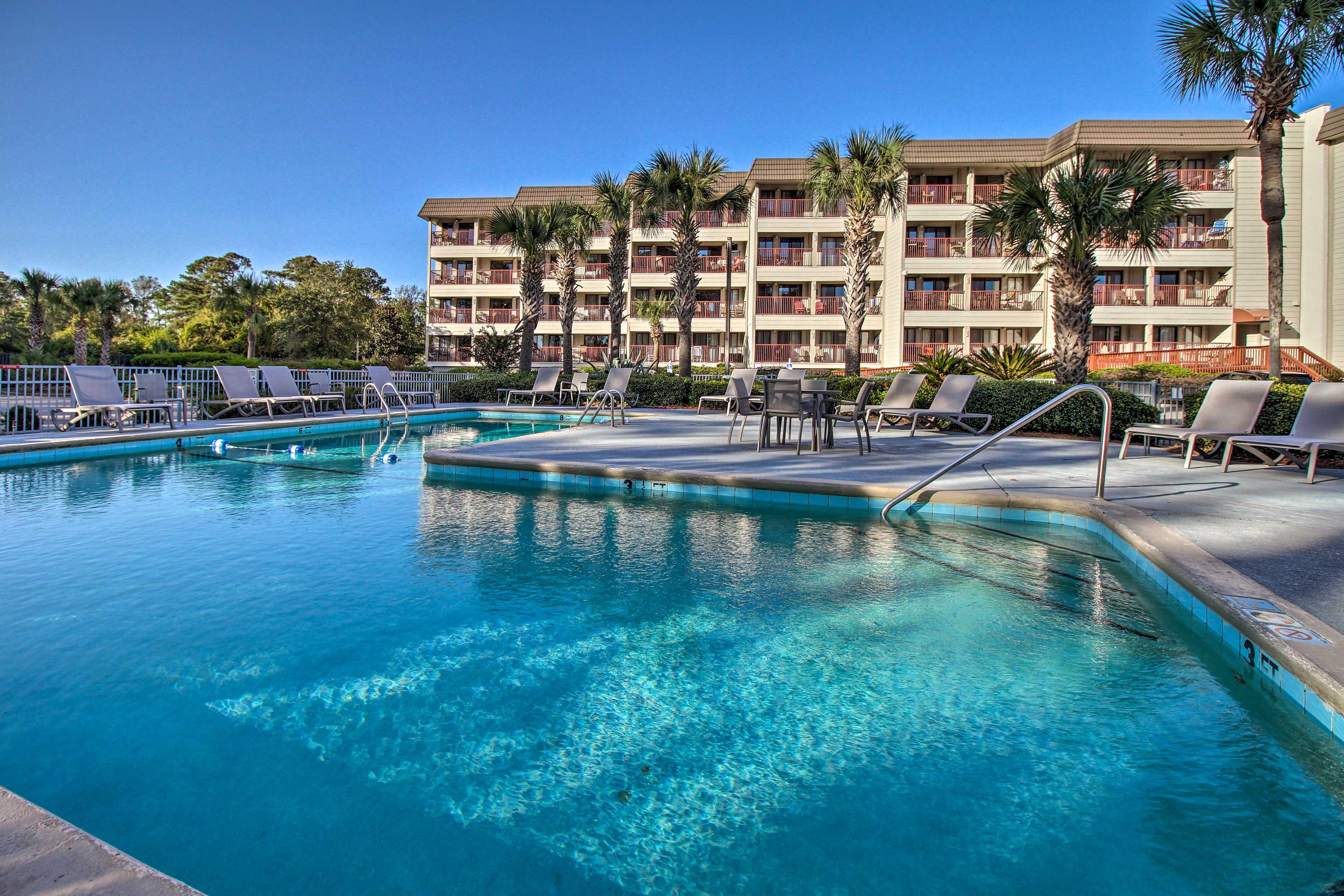 Enjoy pool access!