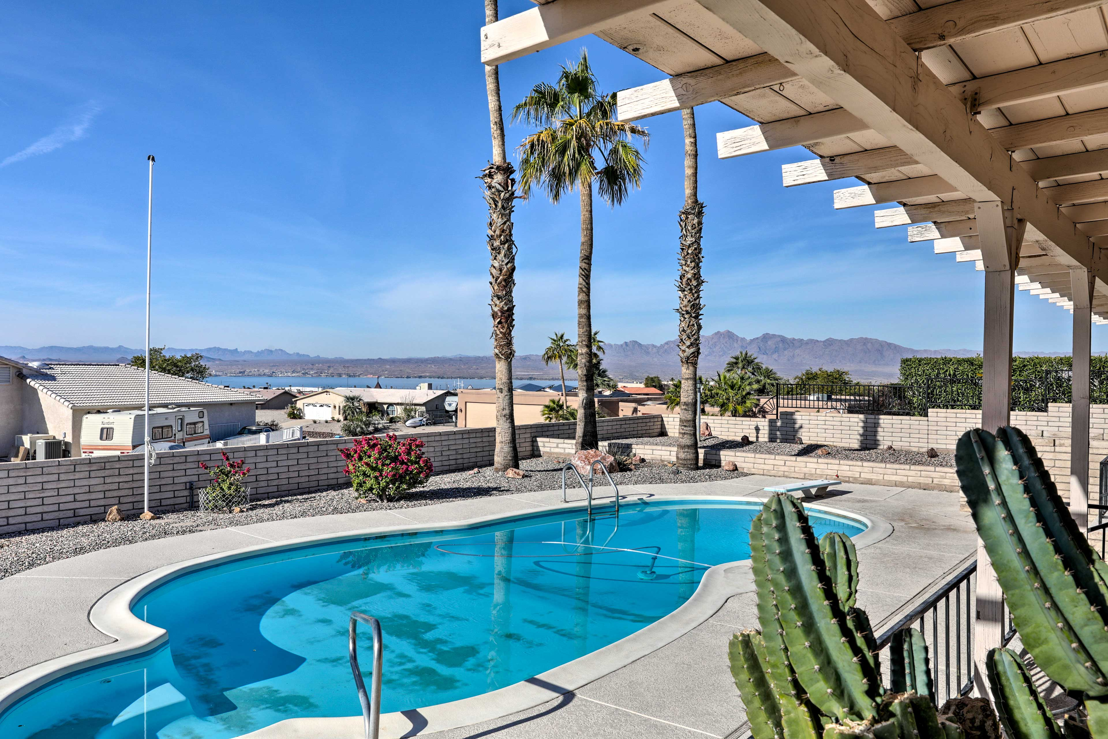 Loaded with amenities, this 3-bed, 2-bath home is a true desert gem!