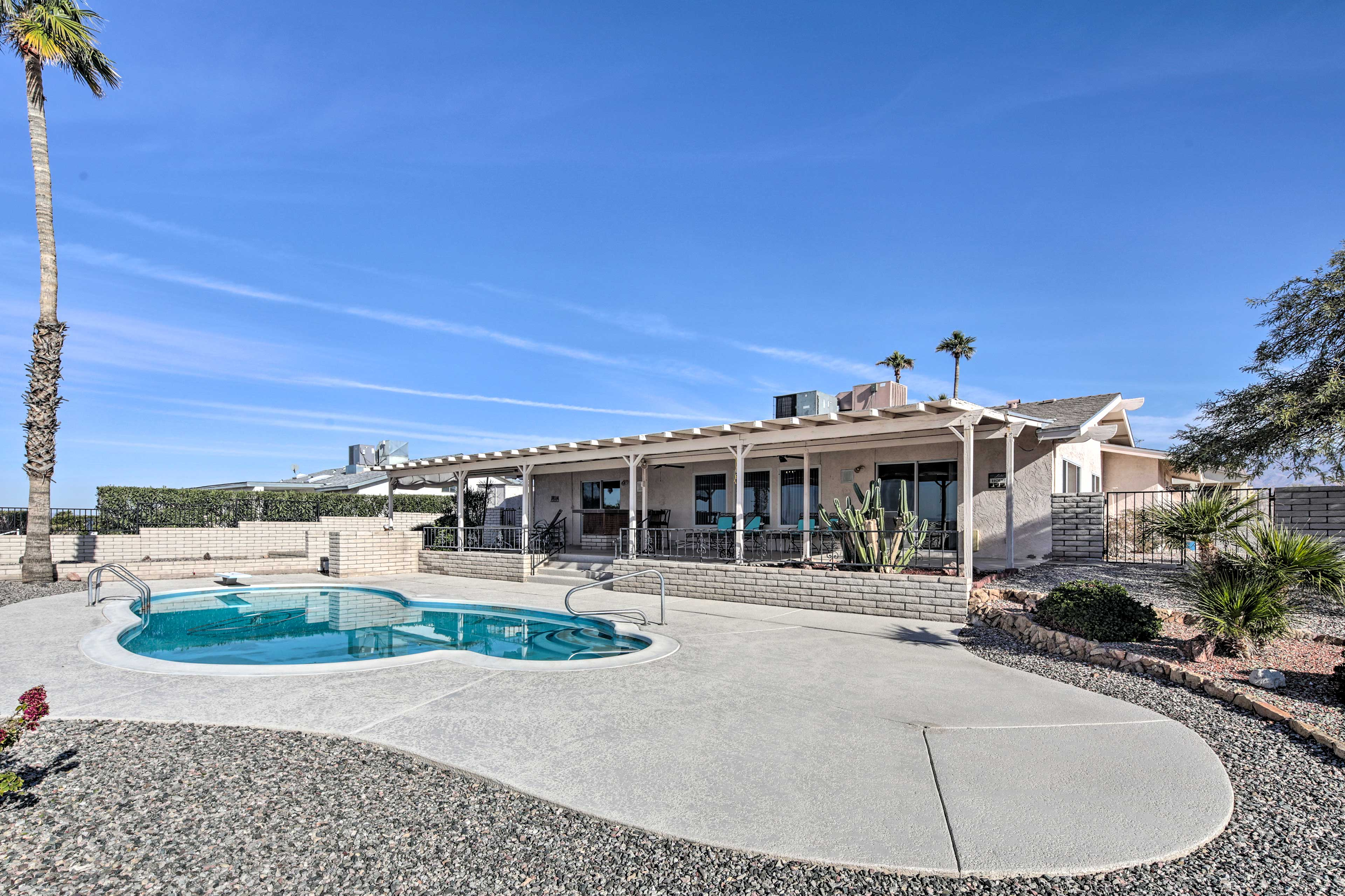 Offering space for 11, this spacious vacation rental is an ideal group retreat.