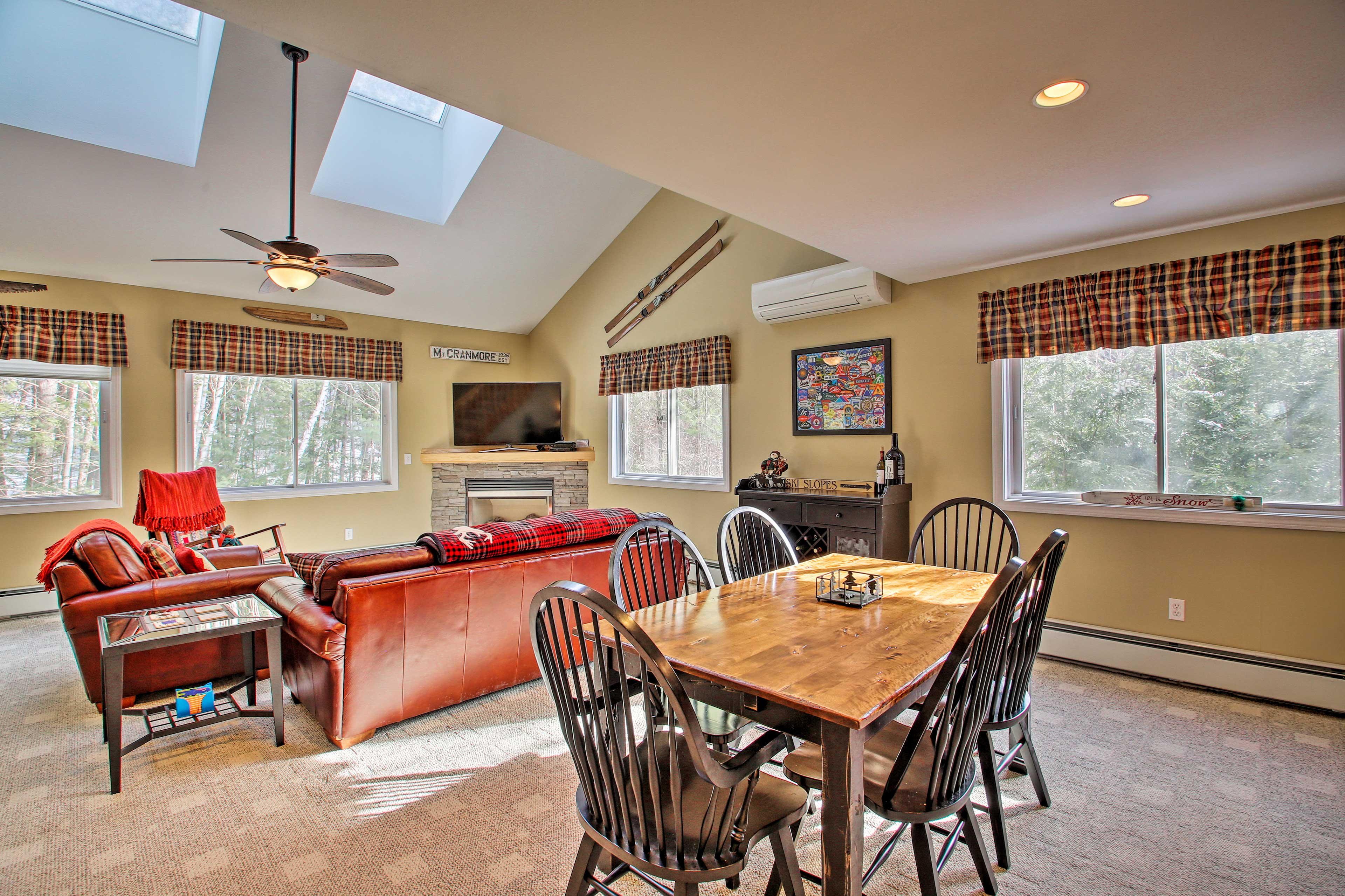 This spacious retreat is close to all of North Conway's attractions!