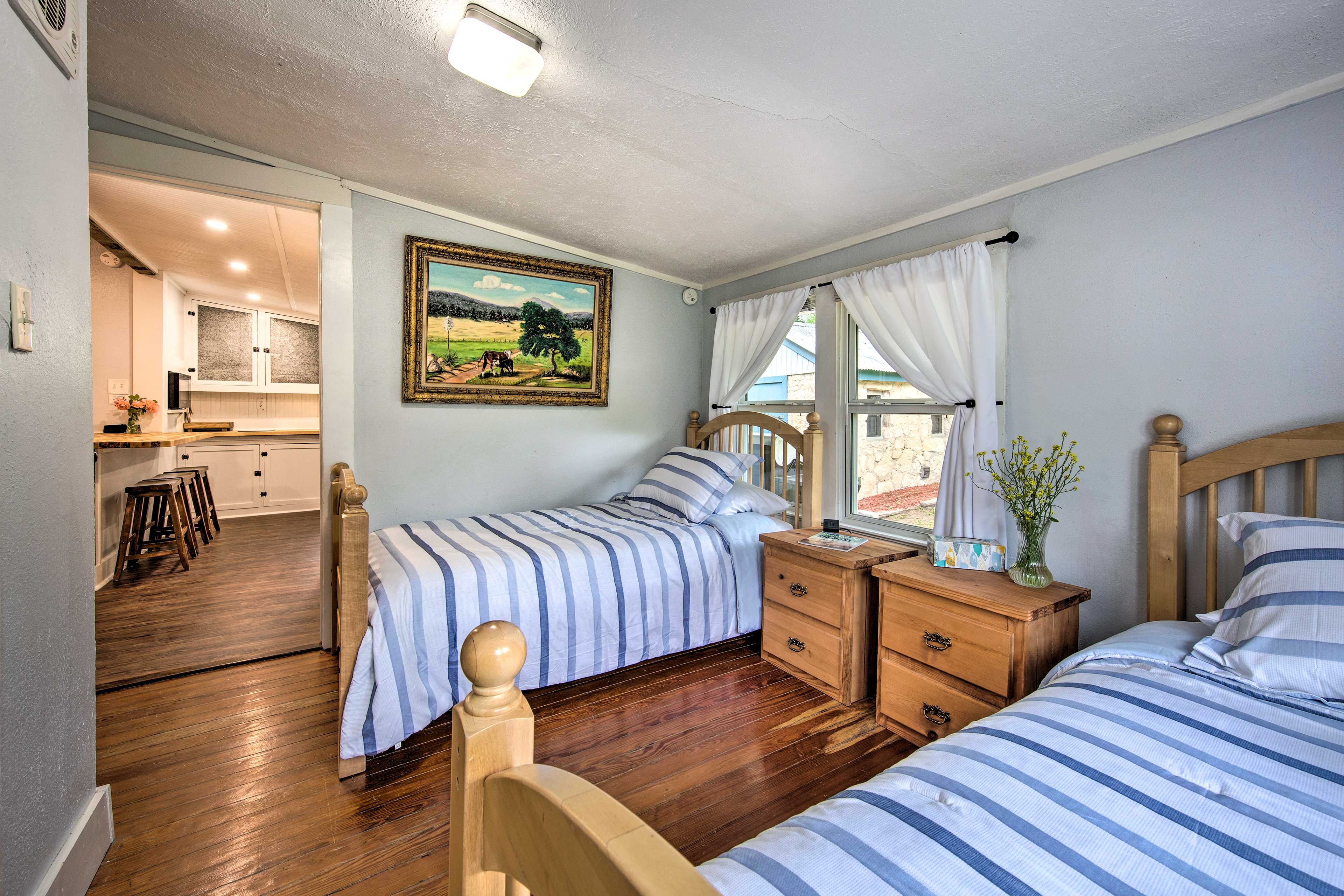 This room is perfect for both children and solo travelers.