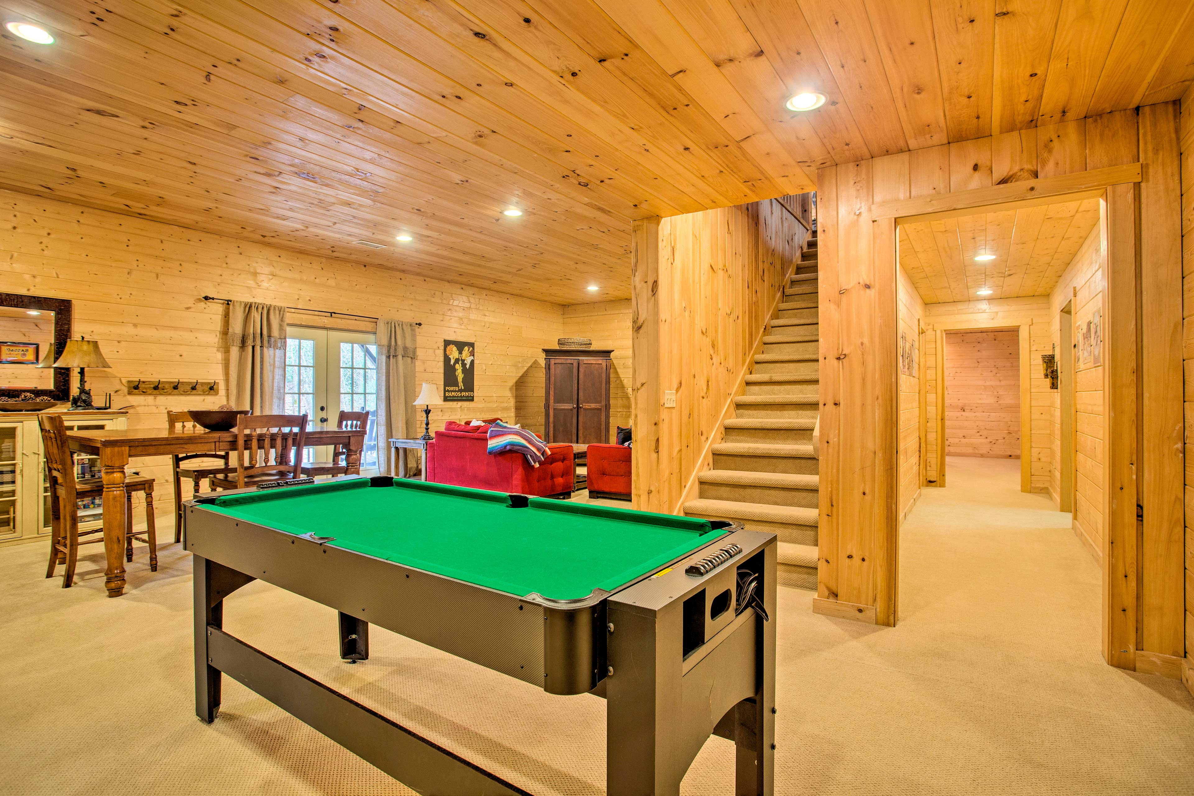Refine your pool game during your stay.