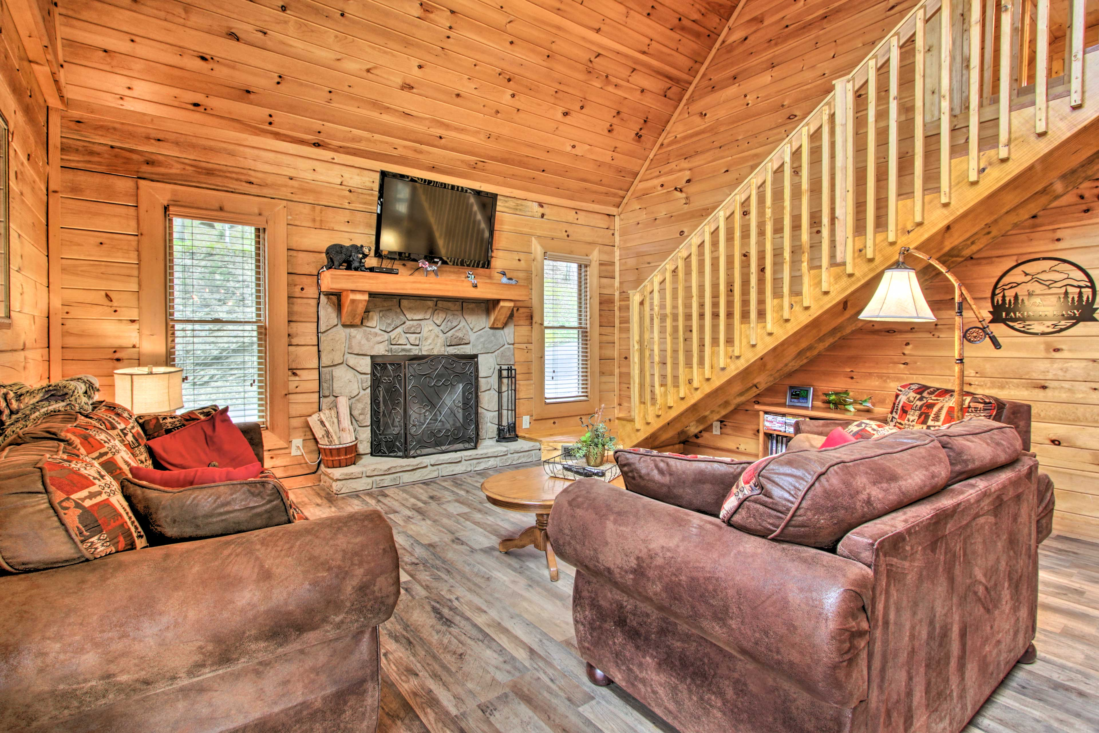 Enjoy your stay at this 3-bedroom, 2-bathroom home on Douglas Lake!