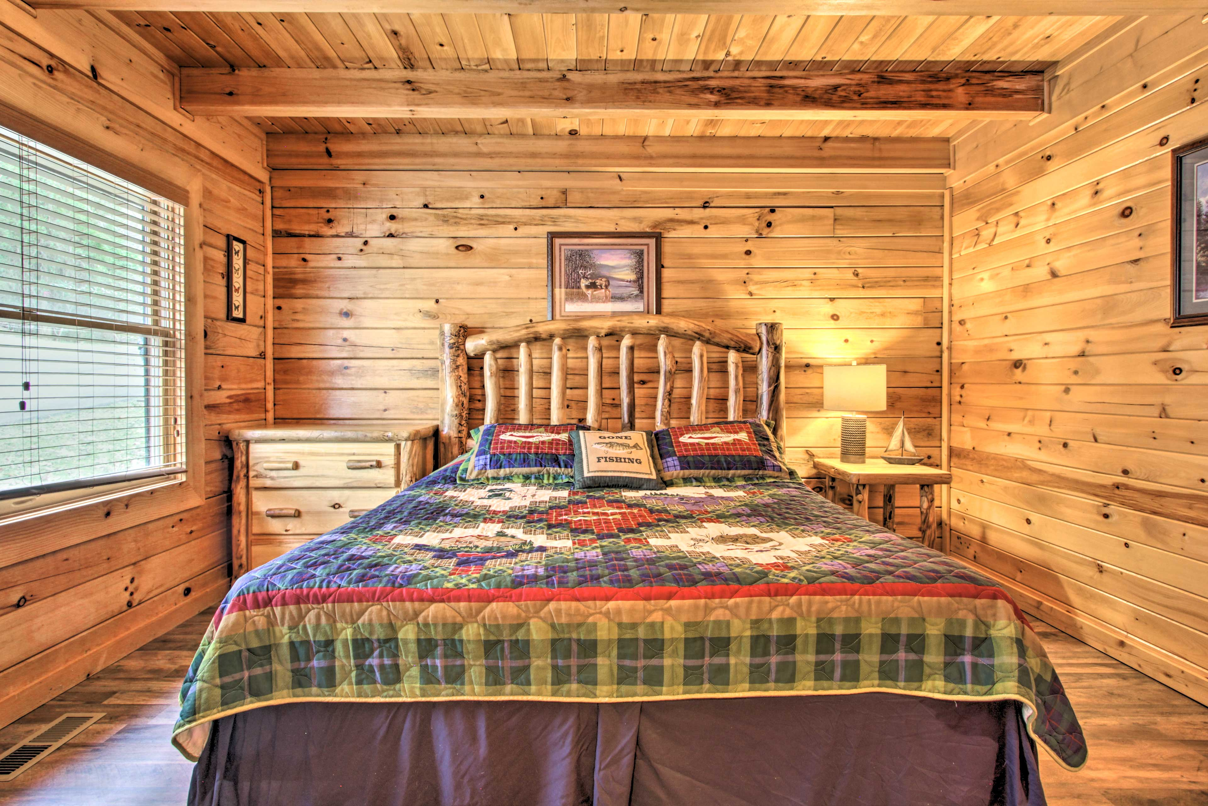 Rest easy each night of your Sevierville vacation.