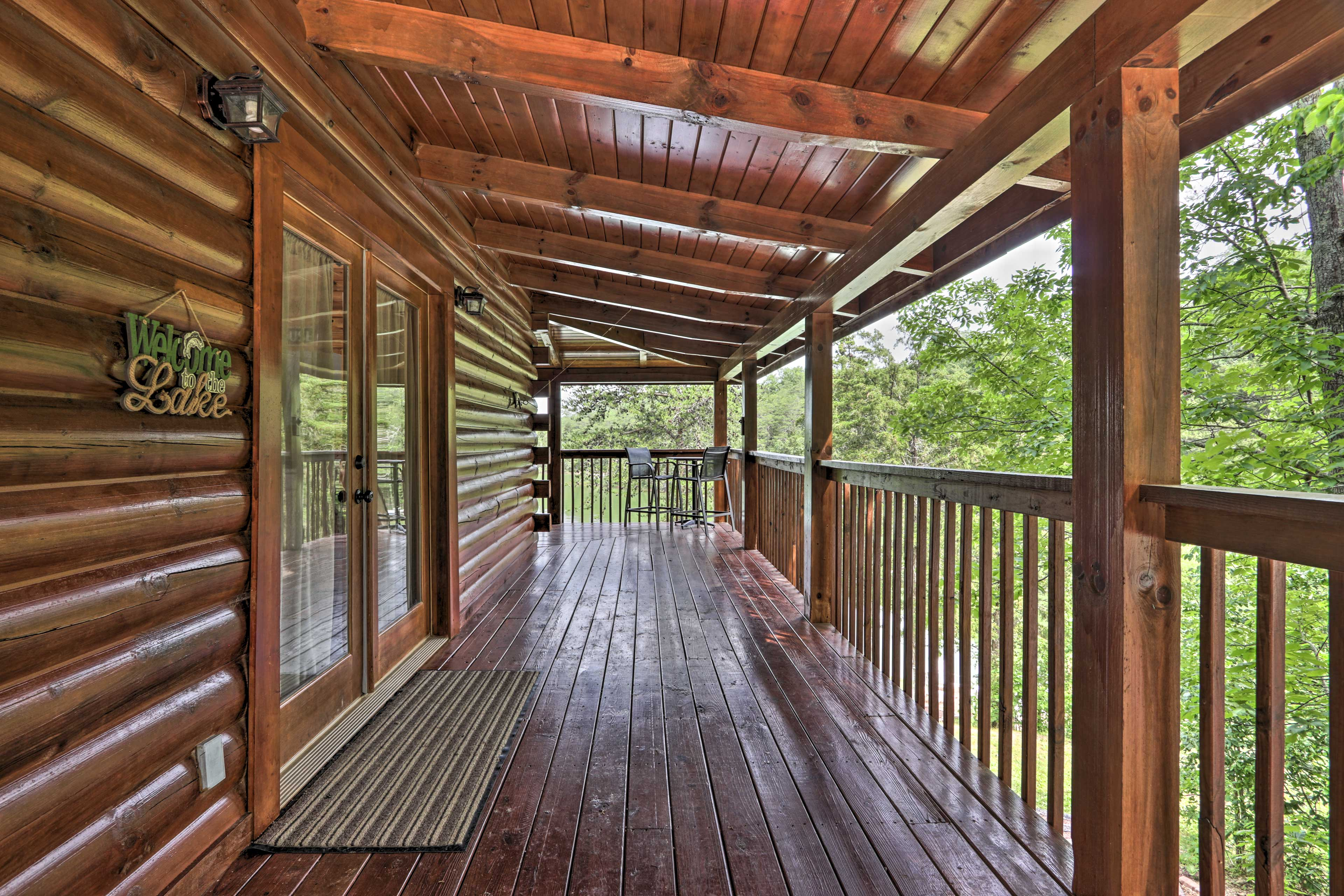 Make your way around the deck of you home-away-from-home.