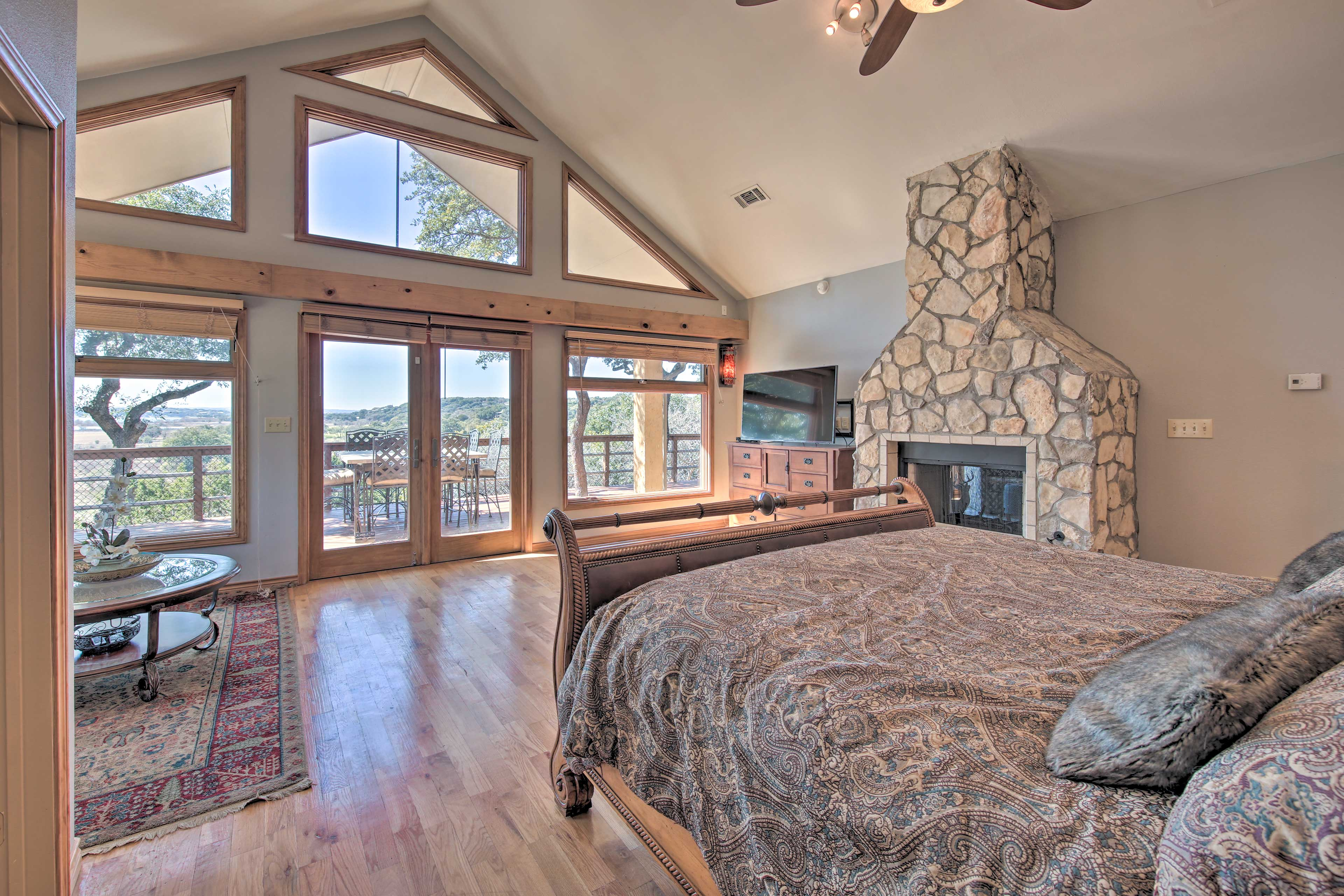 Sleep sound in this stunning room.