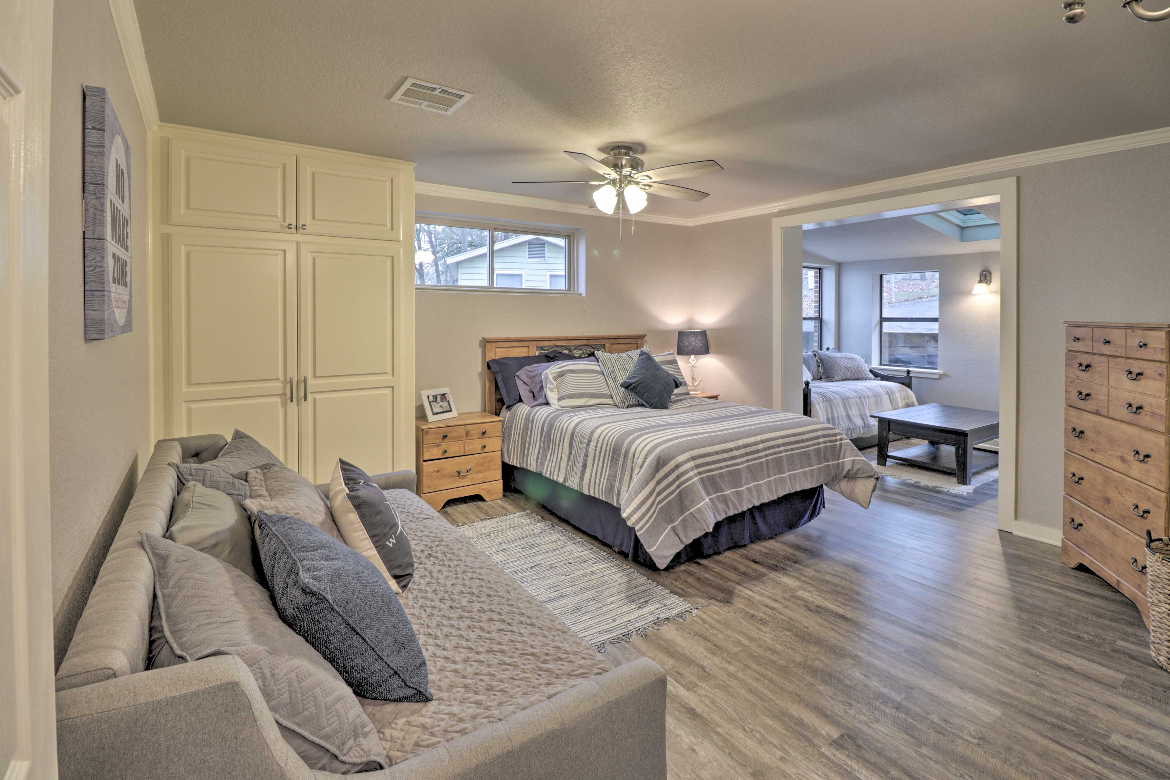 Bedroom 2 | Queen Bed | Twin Day Bed | Twin Bed w/ Twin Trundle