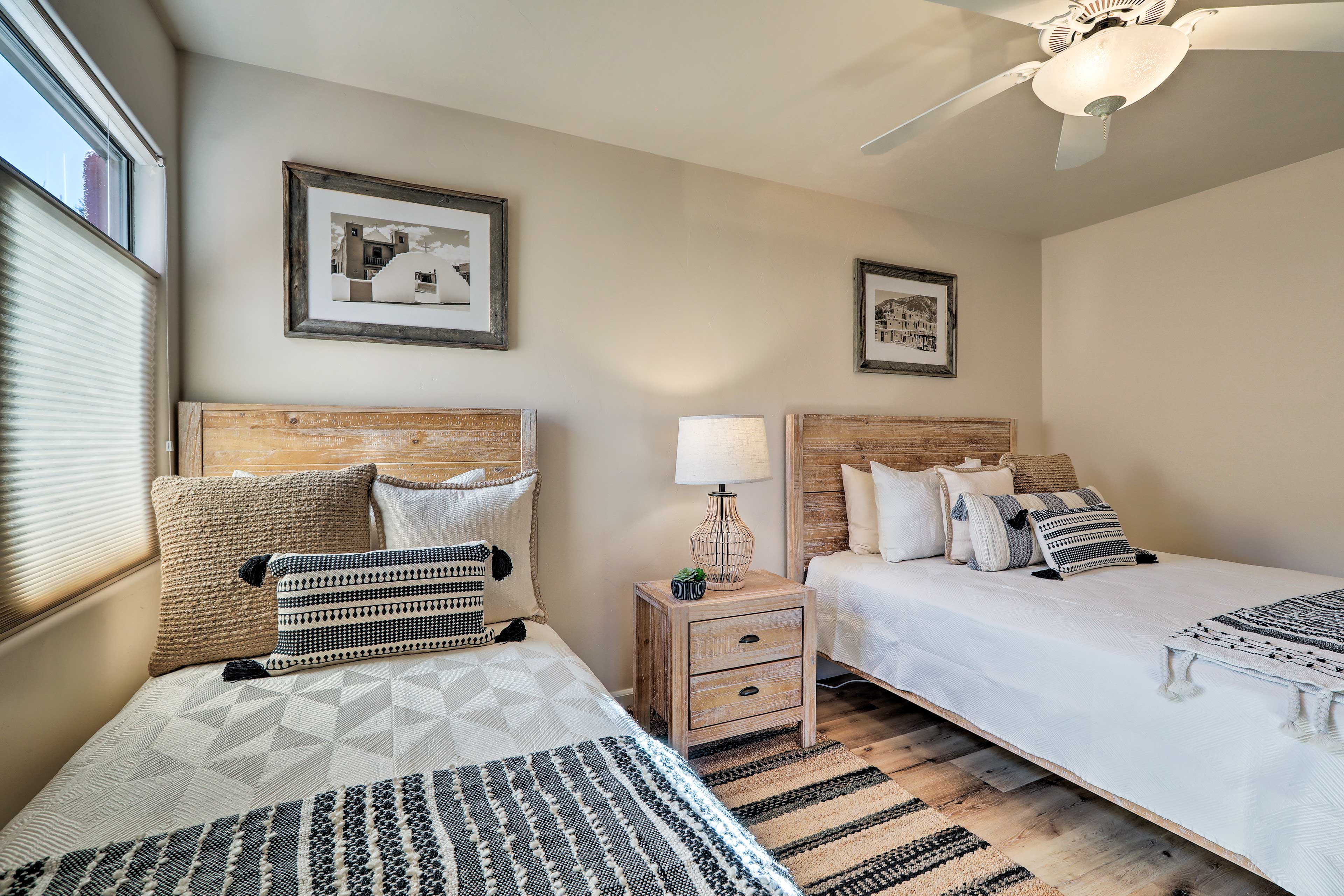 This room is perfect for growing families or a gaggle of children.
