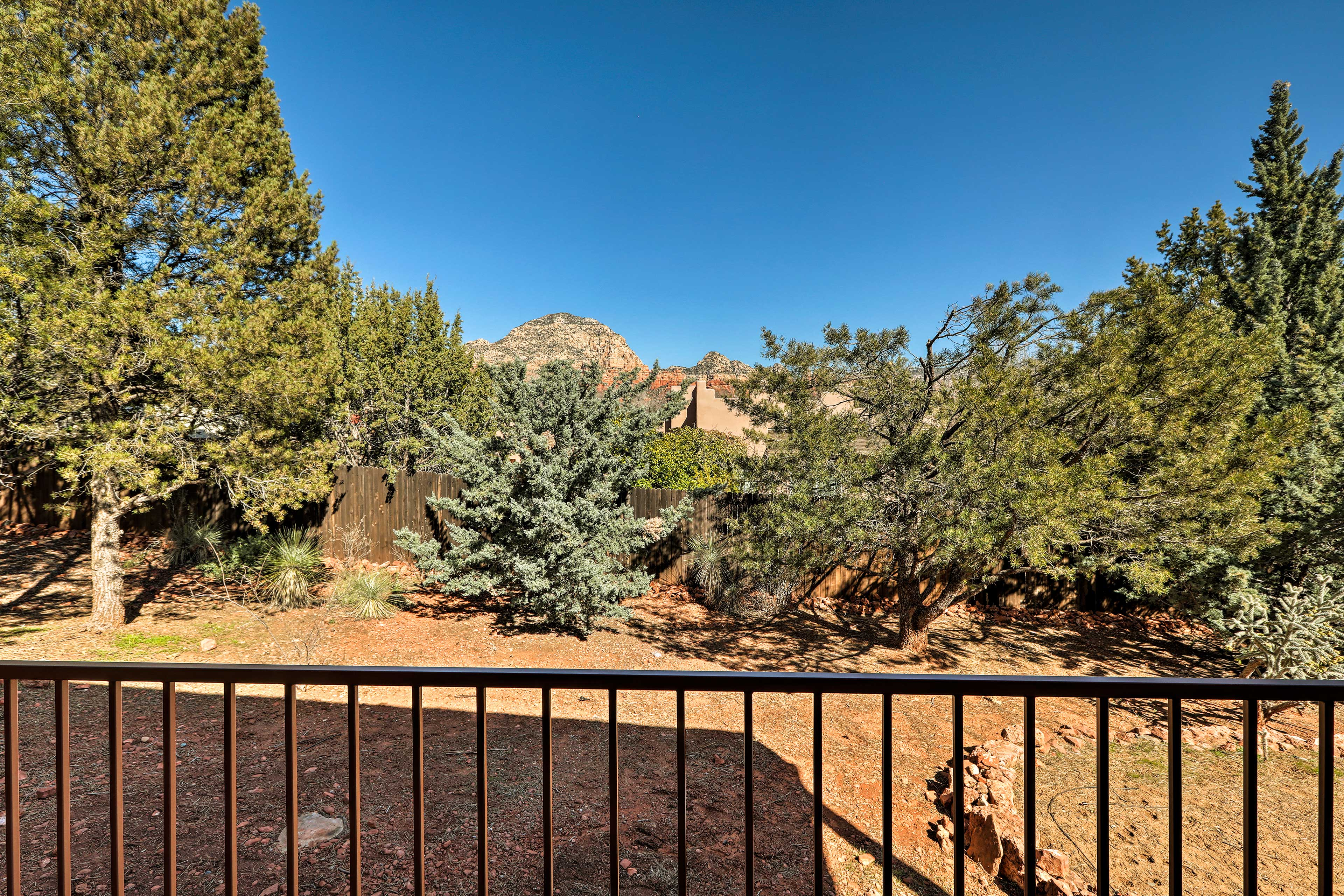 Red Rocks State Park is just a short drive away.