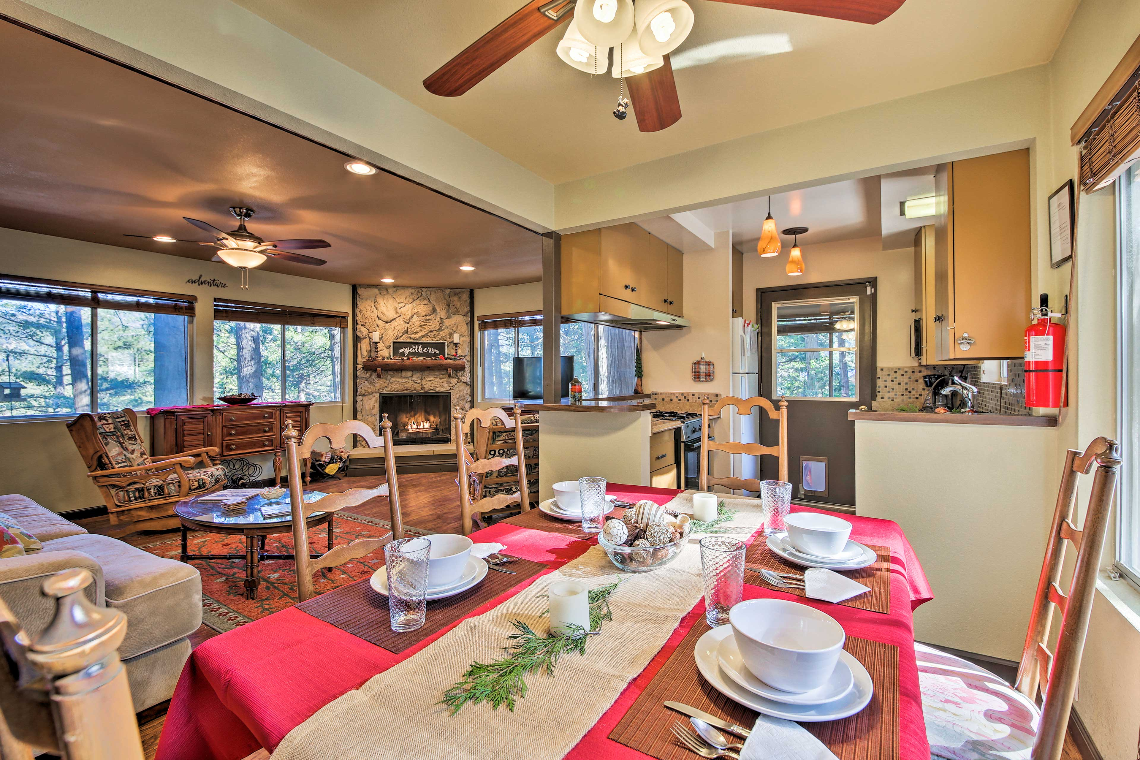 This 3-bedroom, 2-bath home features 1,224 square feet of living space.