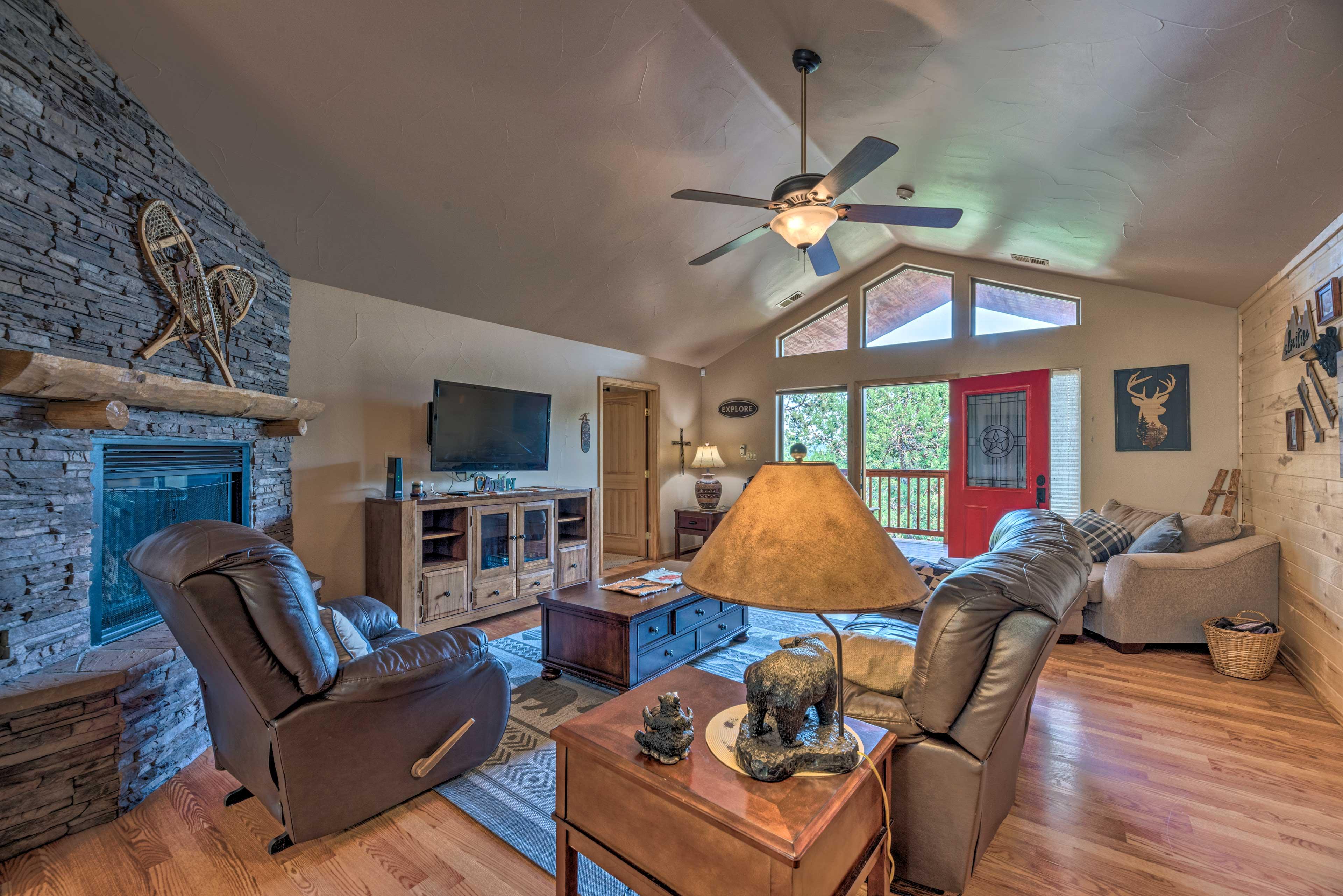 Ruidoso Vacation Rental Cabin | 3BR | 3BA | 2,345 Sq Ft