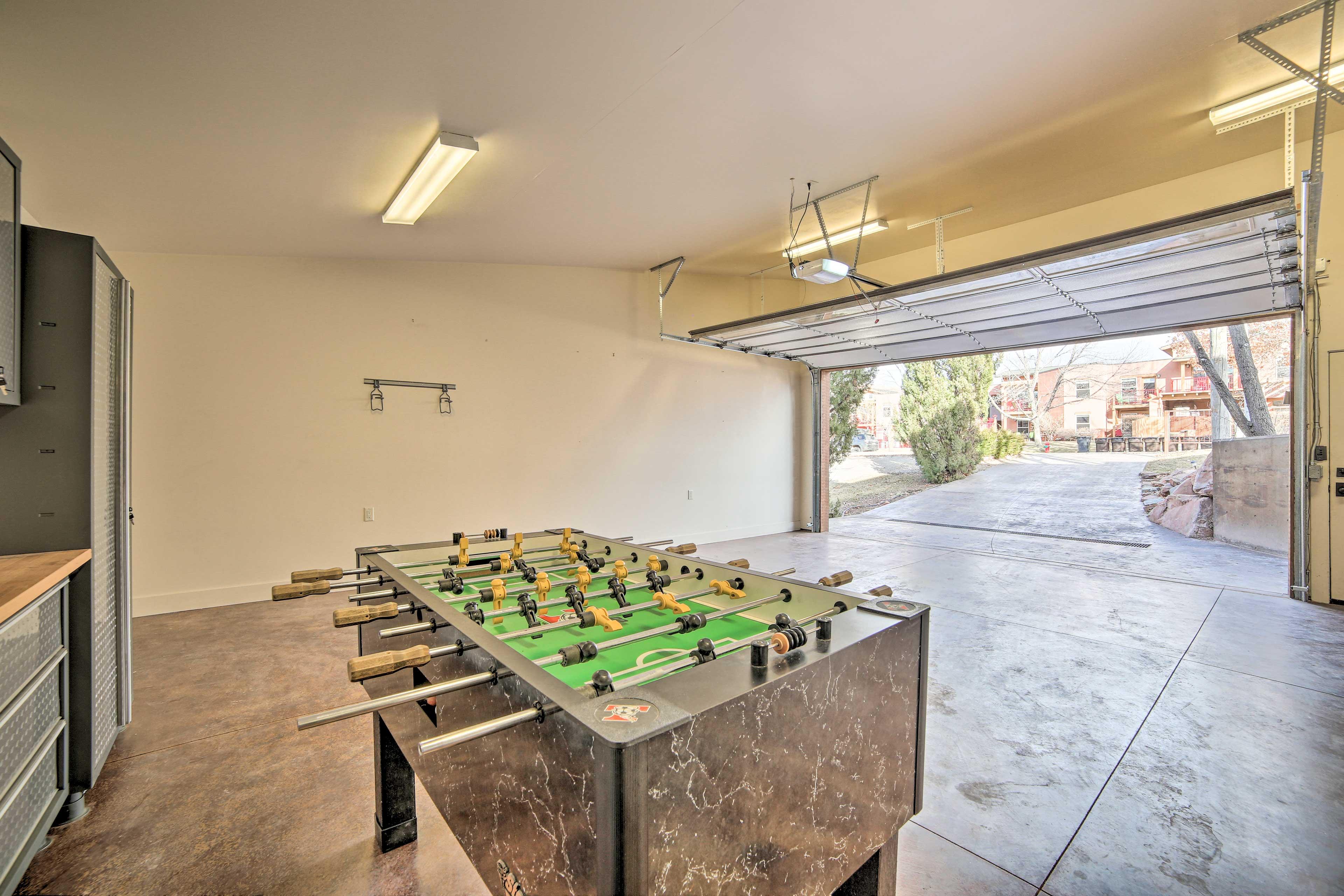 Garage   Foosball Table