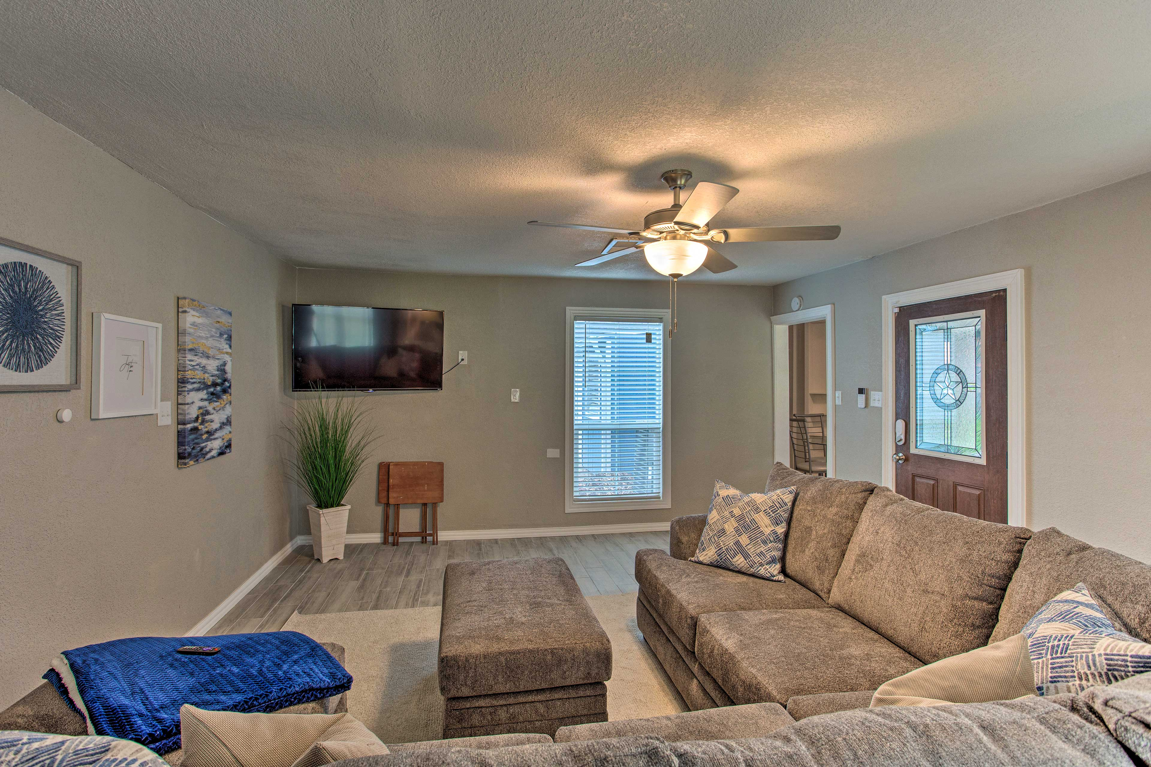 Kick your feet up in this vacation rental daily!