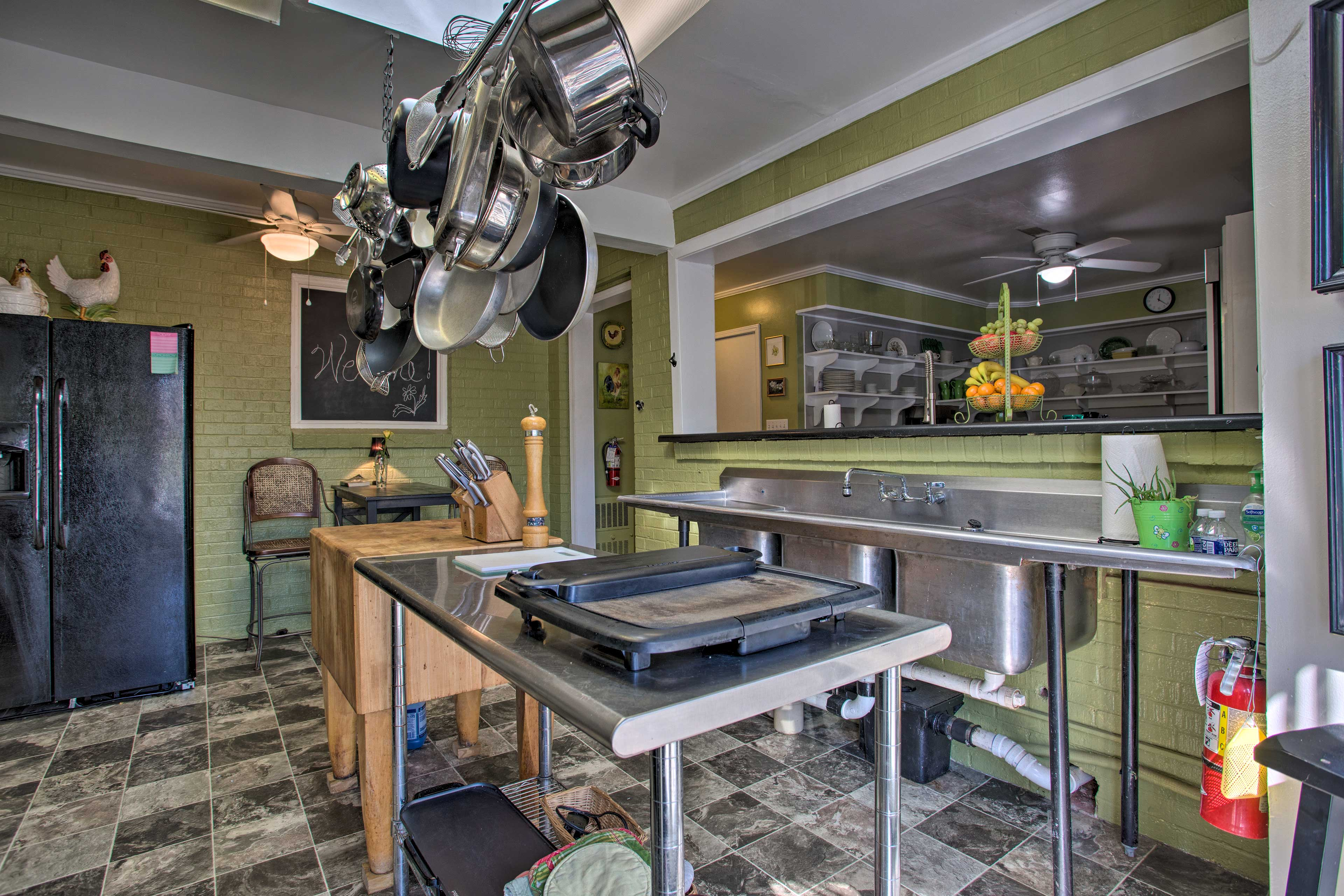 Amenities include a dishwasher, coffeemaker, toaster, microwave & more!