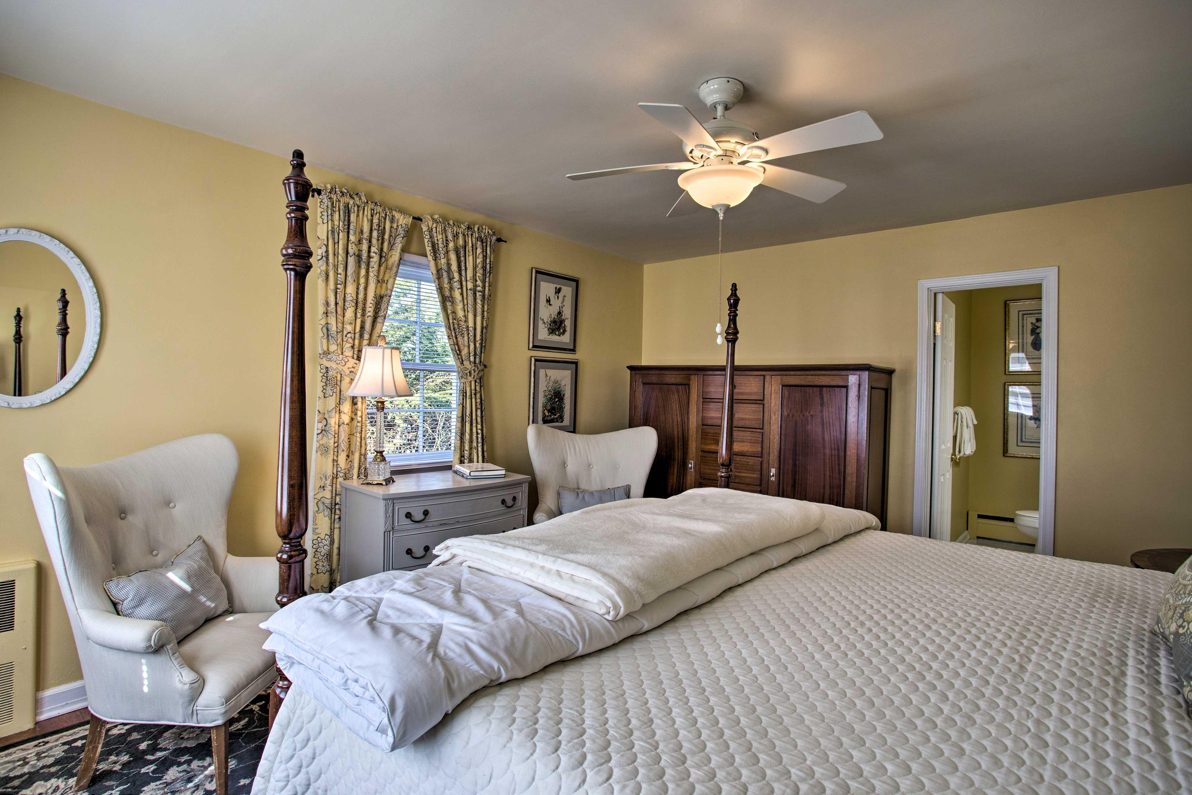 Sleep well in a comfortable room!