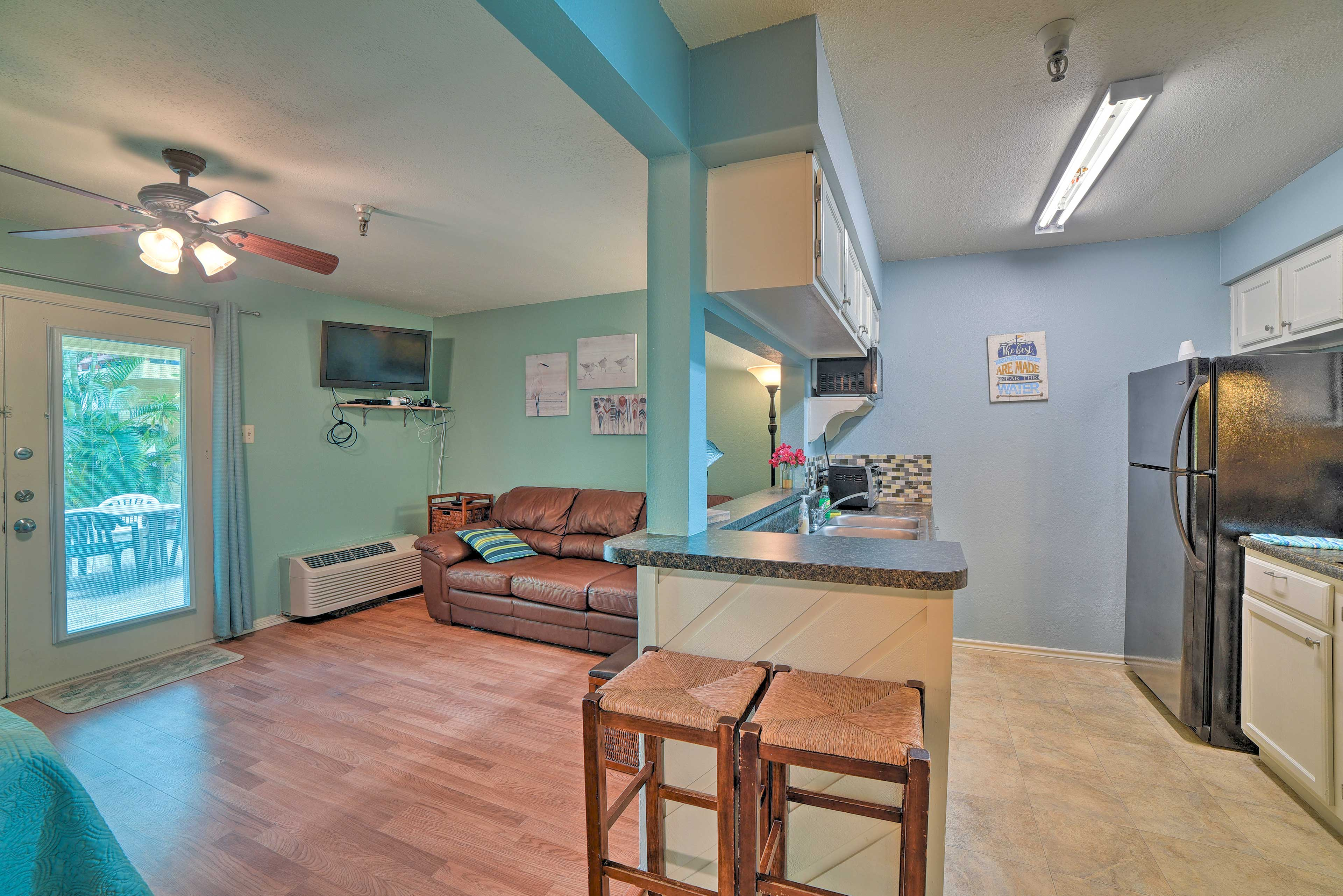 Corpus Christi Vacation Rental | 1BA | Private Entrance | Step-Free Access