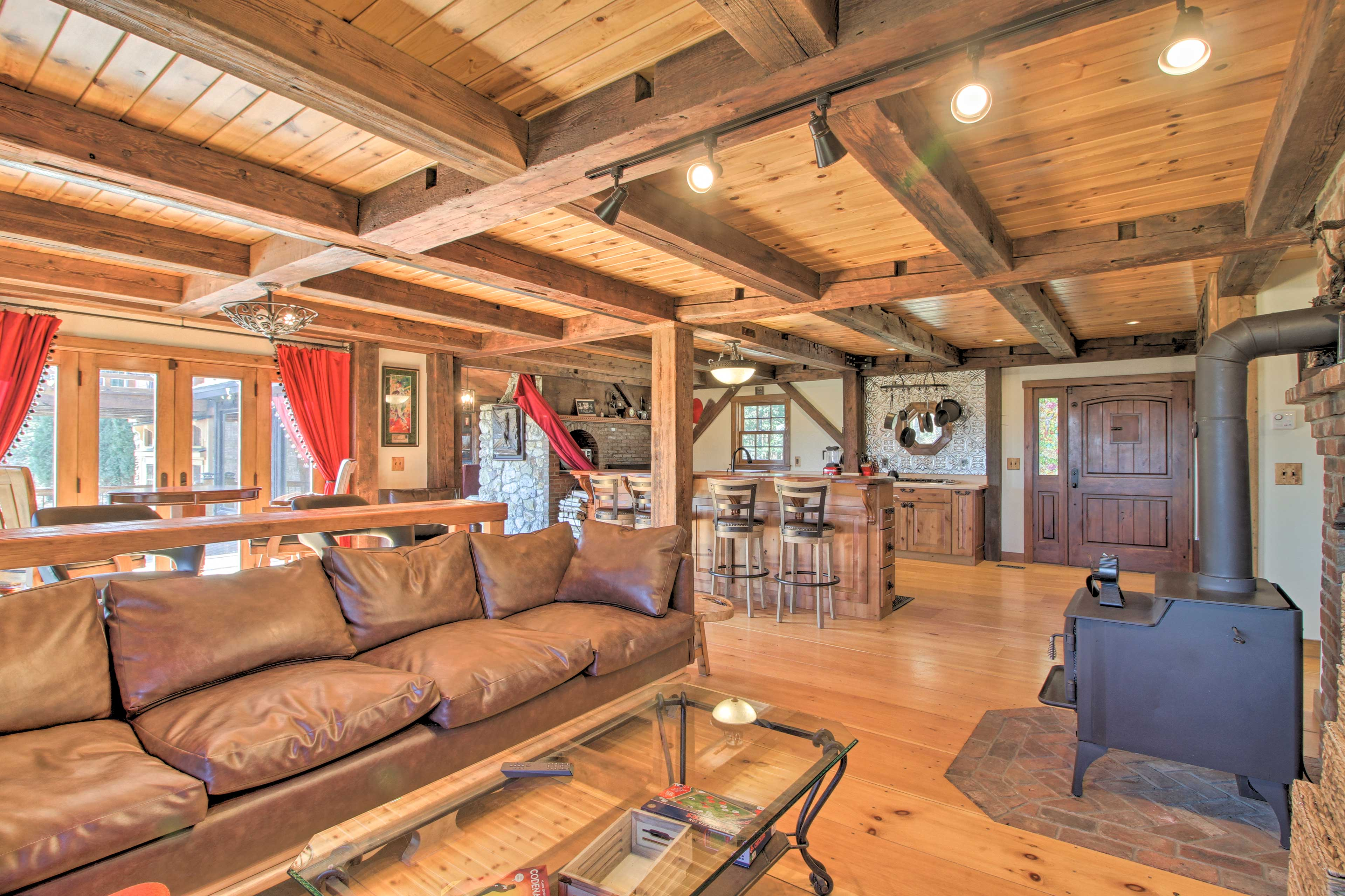 Host an event at this vacation rental and enjoy the renovated interior!