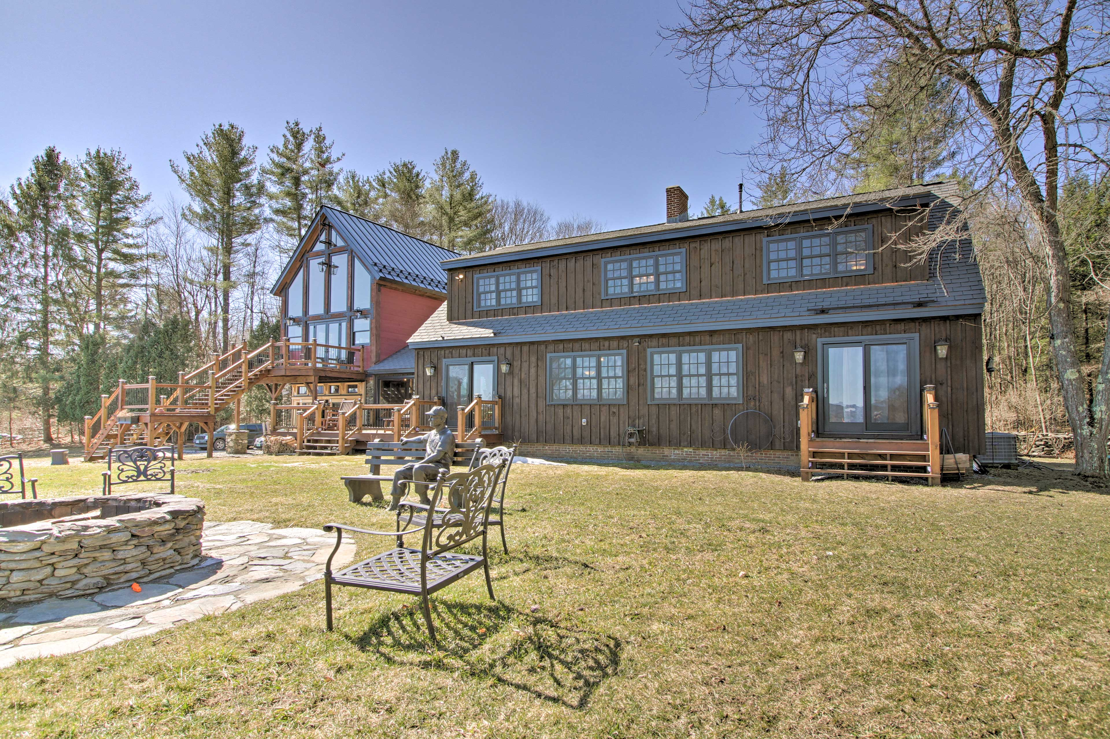 Spend your days in the Green Mountains at this Westminster home!