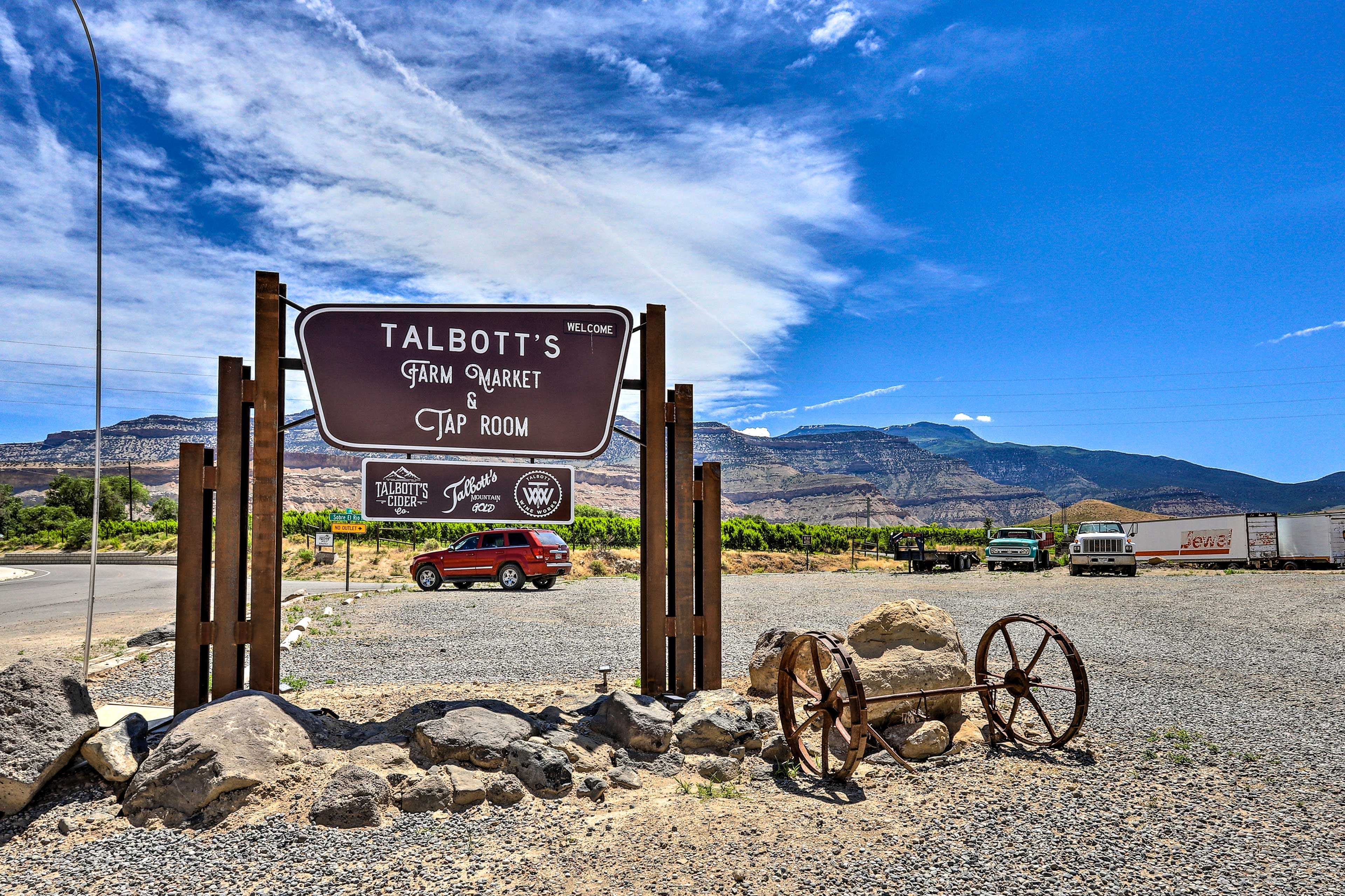 The cider lovers can trek to Talbott's nearby.