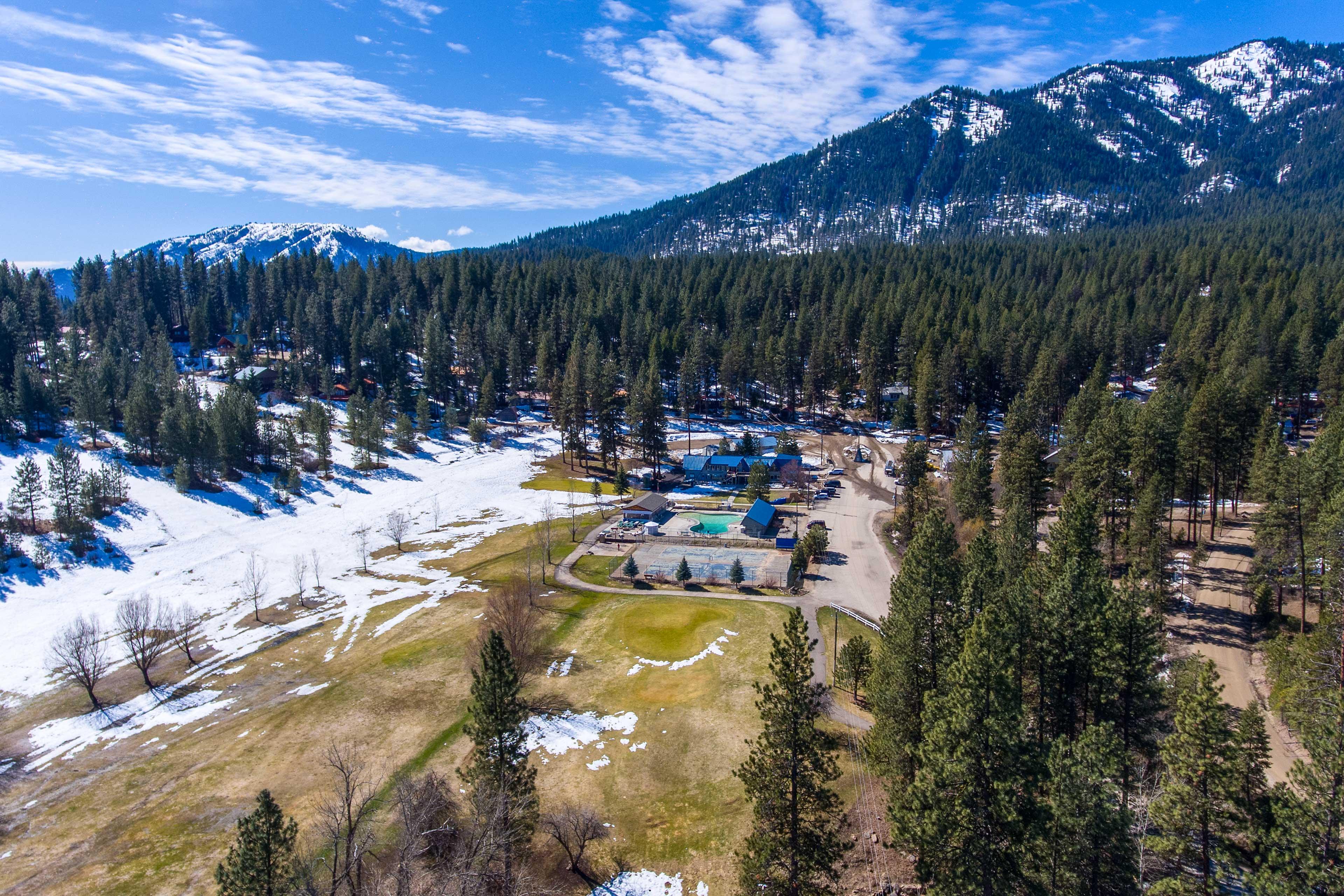 Experience the breathtaking beauty of Idaho's Rocky Mountains.