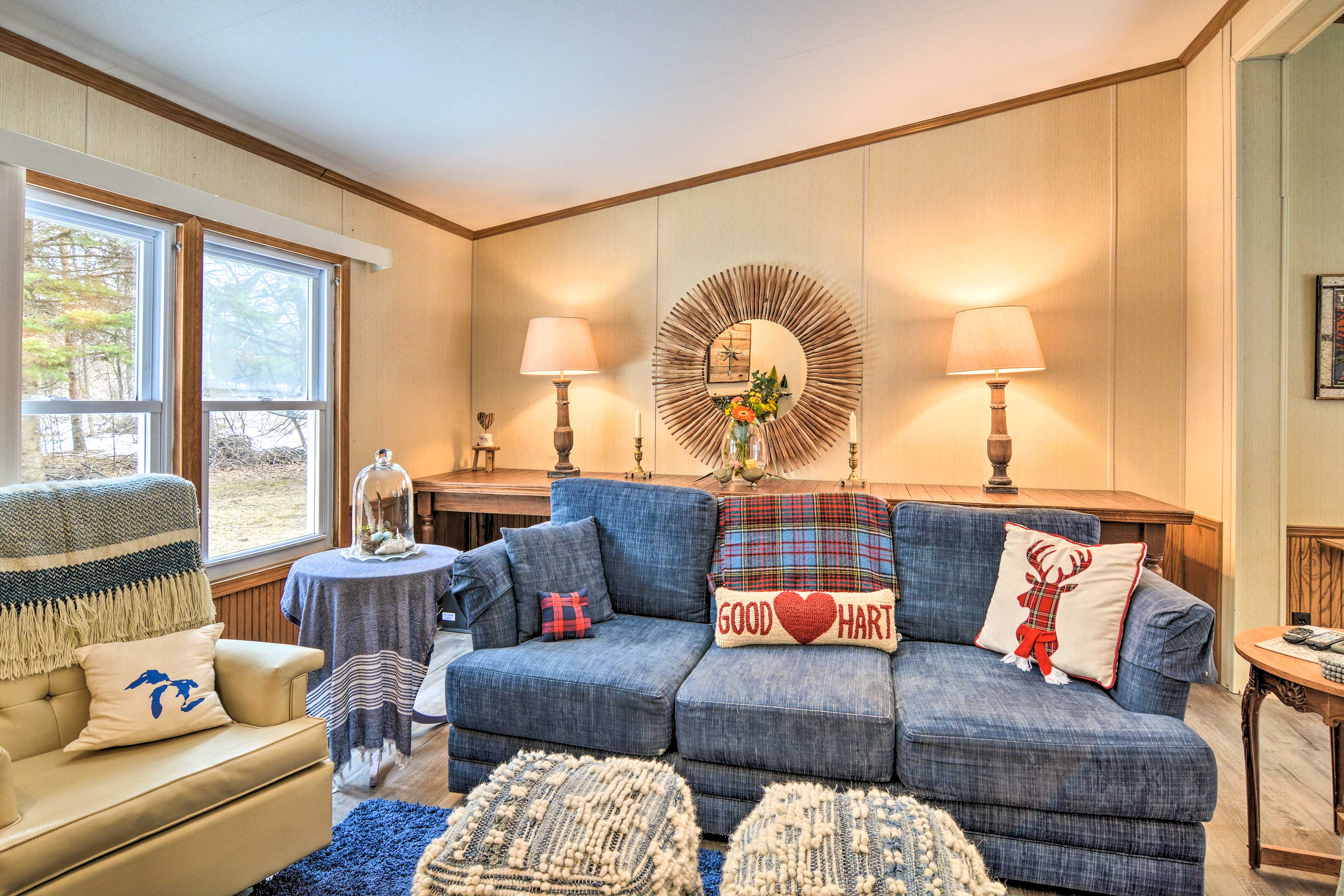 This Good Hart getaway will make you feel right at home!