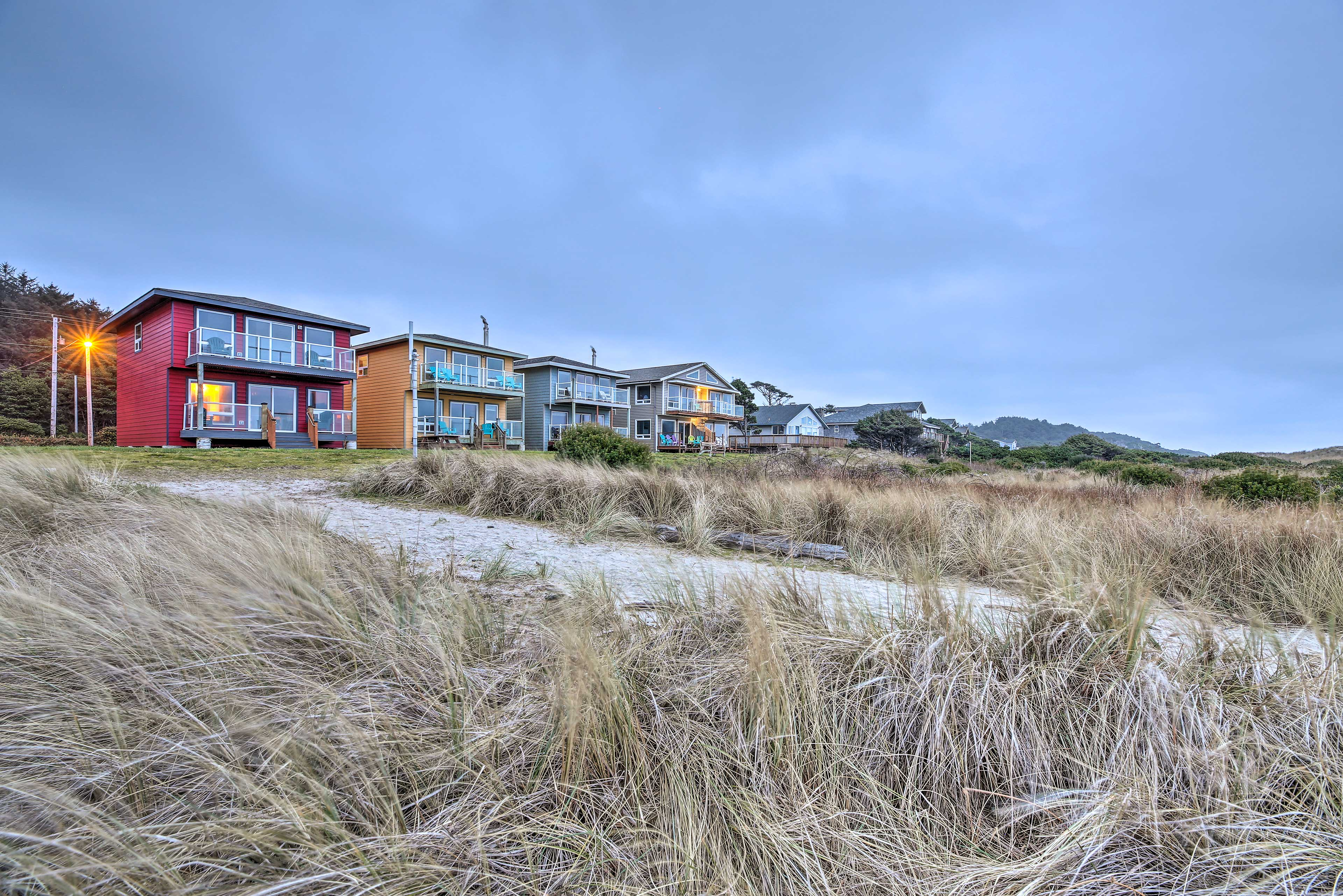 Several other vacation rental units are adjacent to this property.