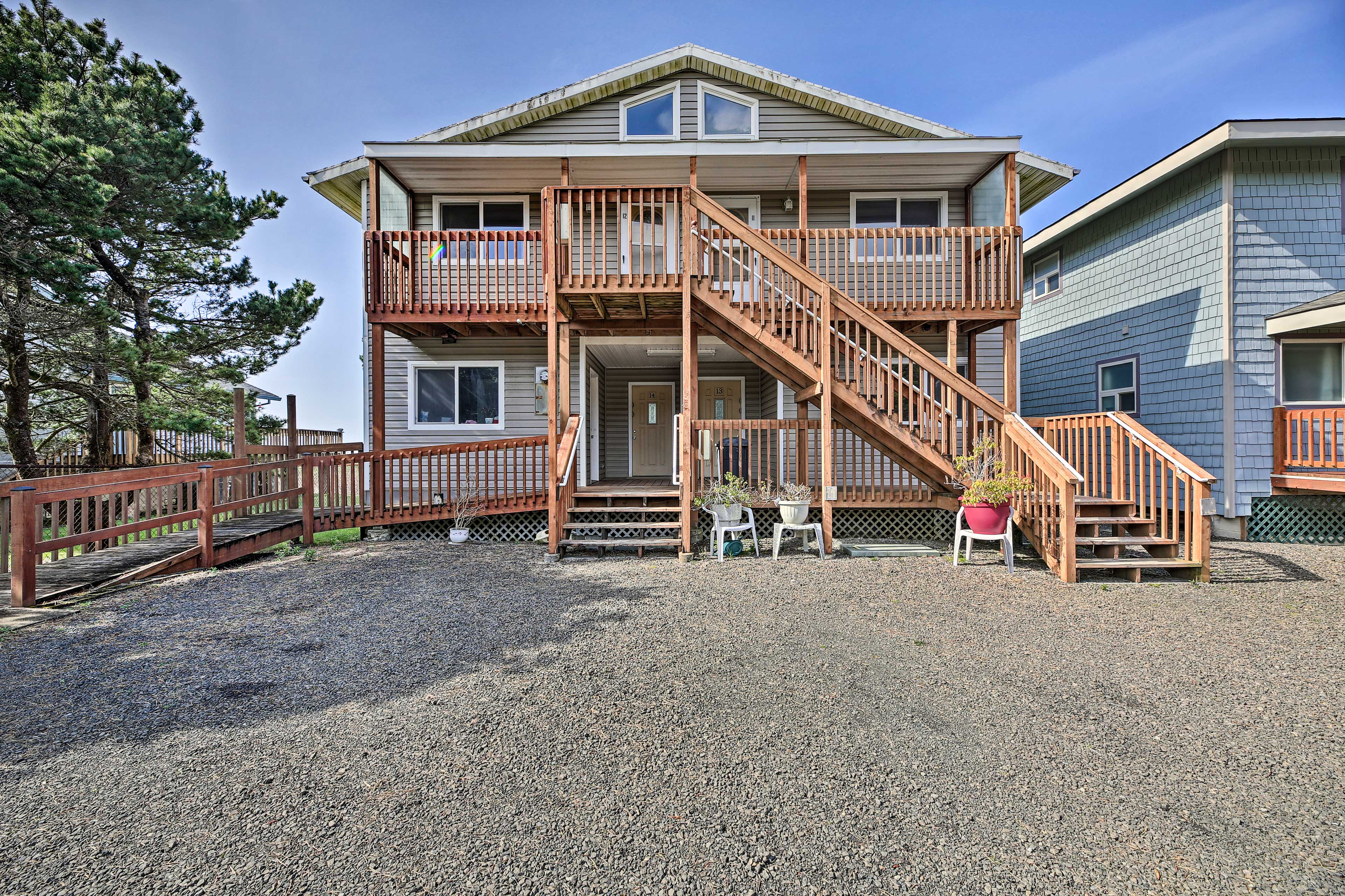This home features modern conveniences like wireless internet access.