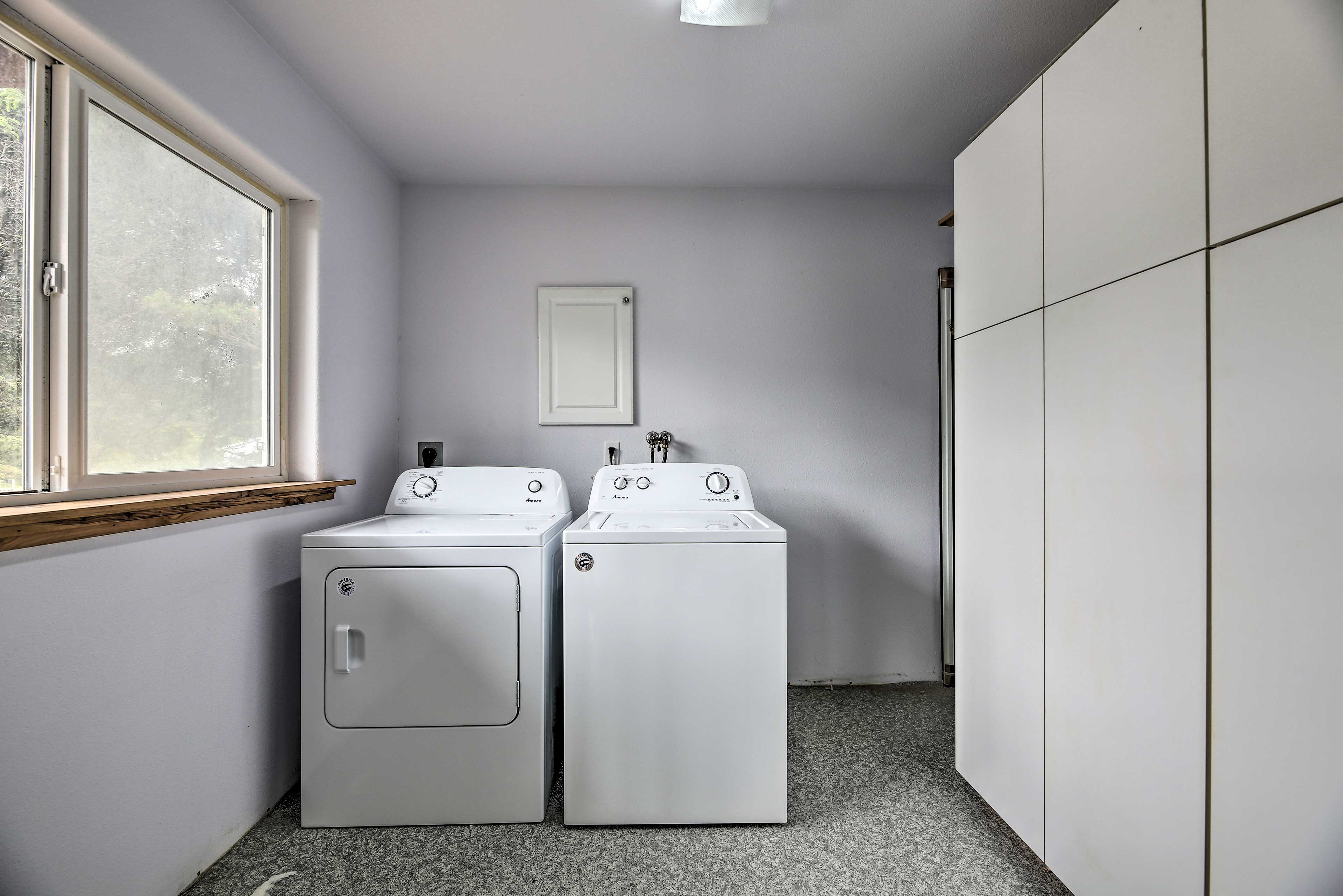 Refrain from over packing when you have a washer and dryer at your disposal.