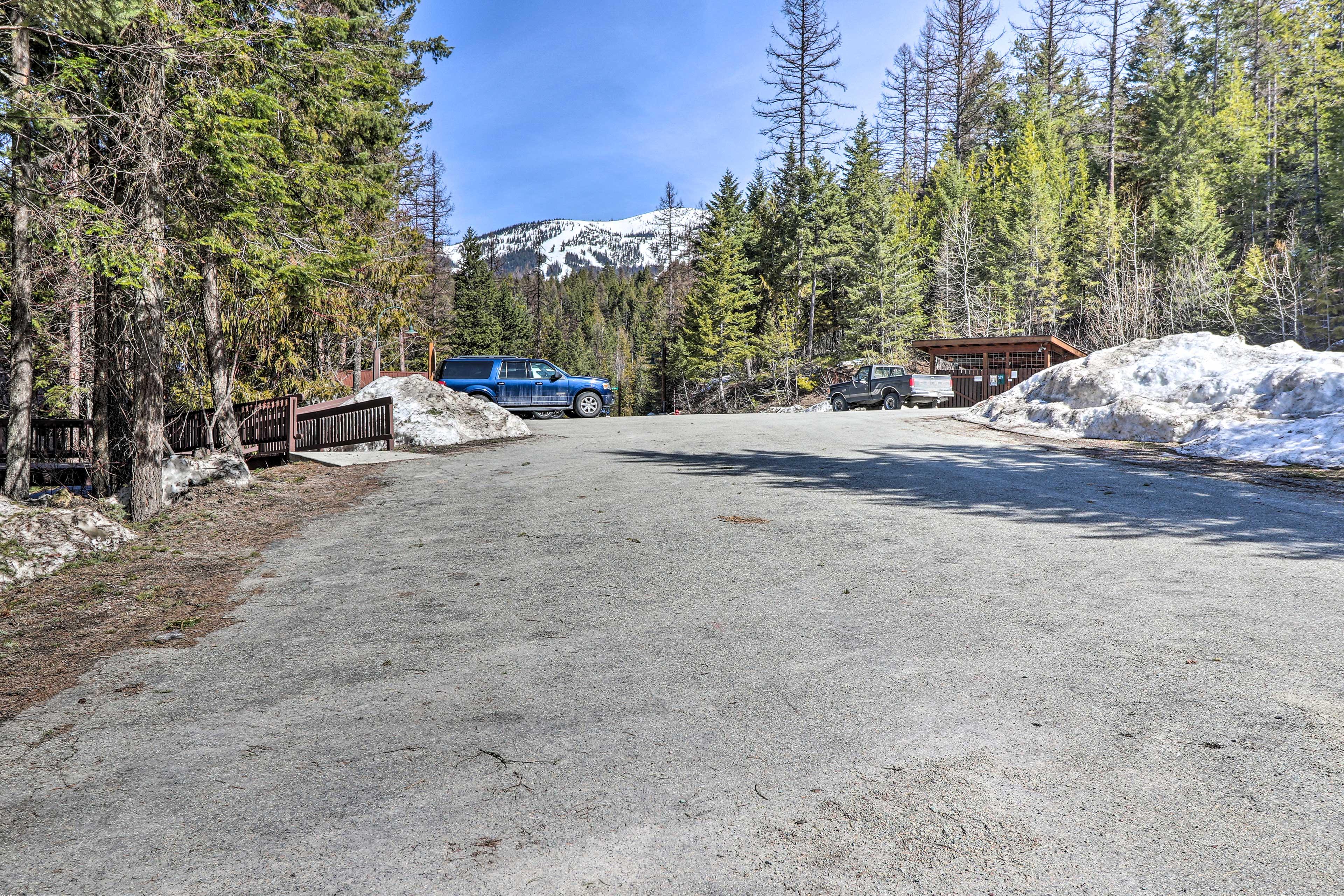 Whitefish Mountain Resort lies just 2.8 miles away.