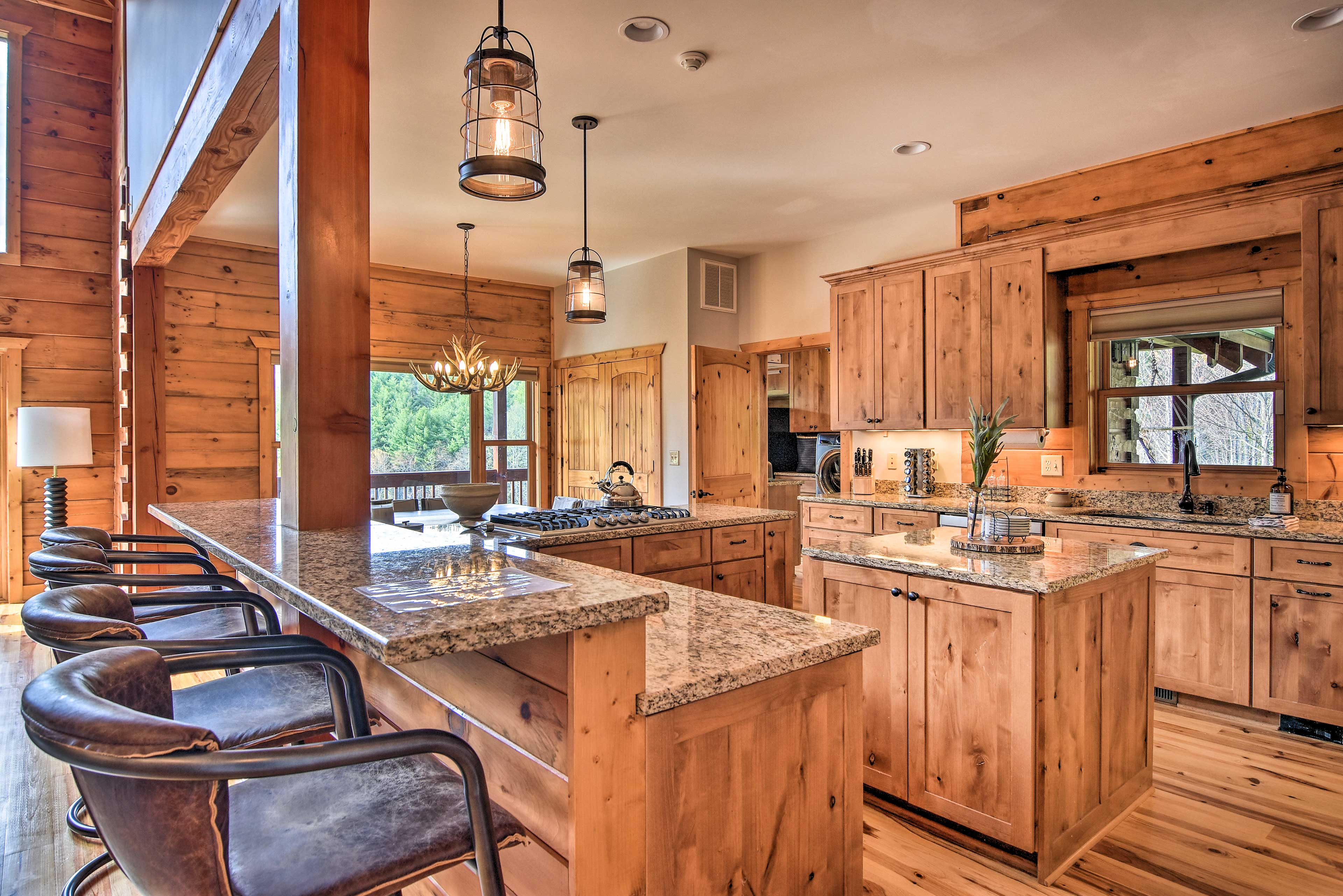 The interior offers 5,130 square feet of well-appointed living space.