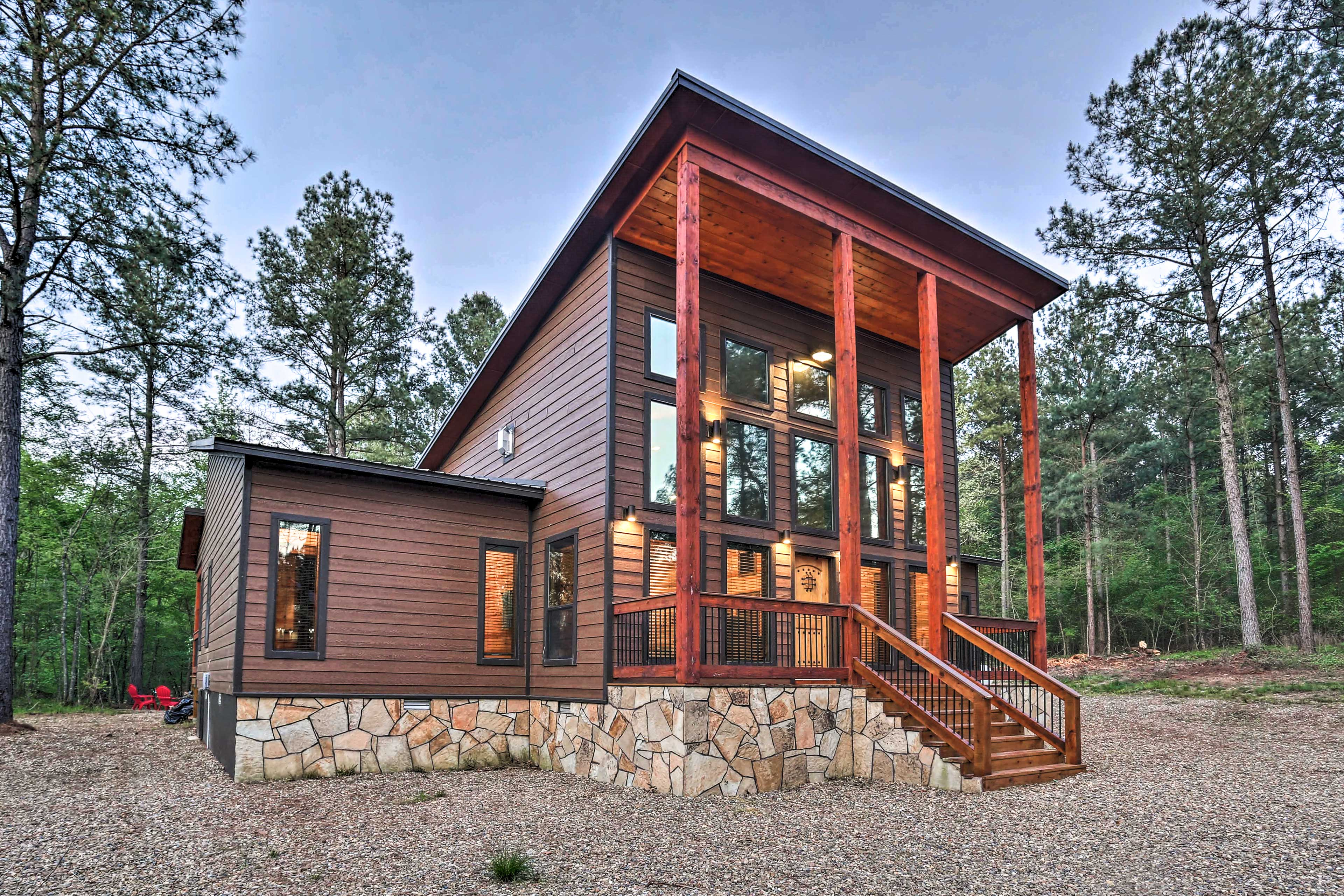 Exterior | Covered Front Porch | Private Location