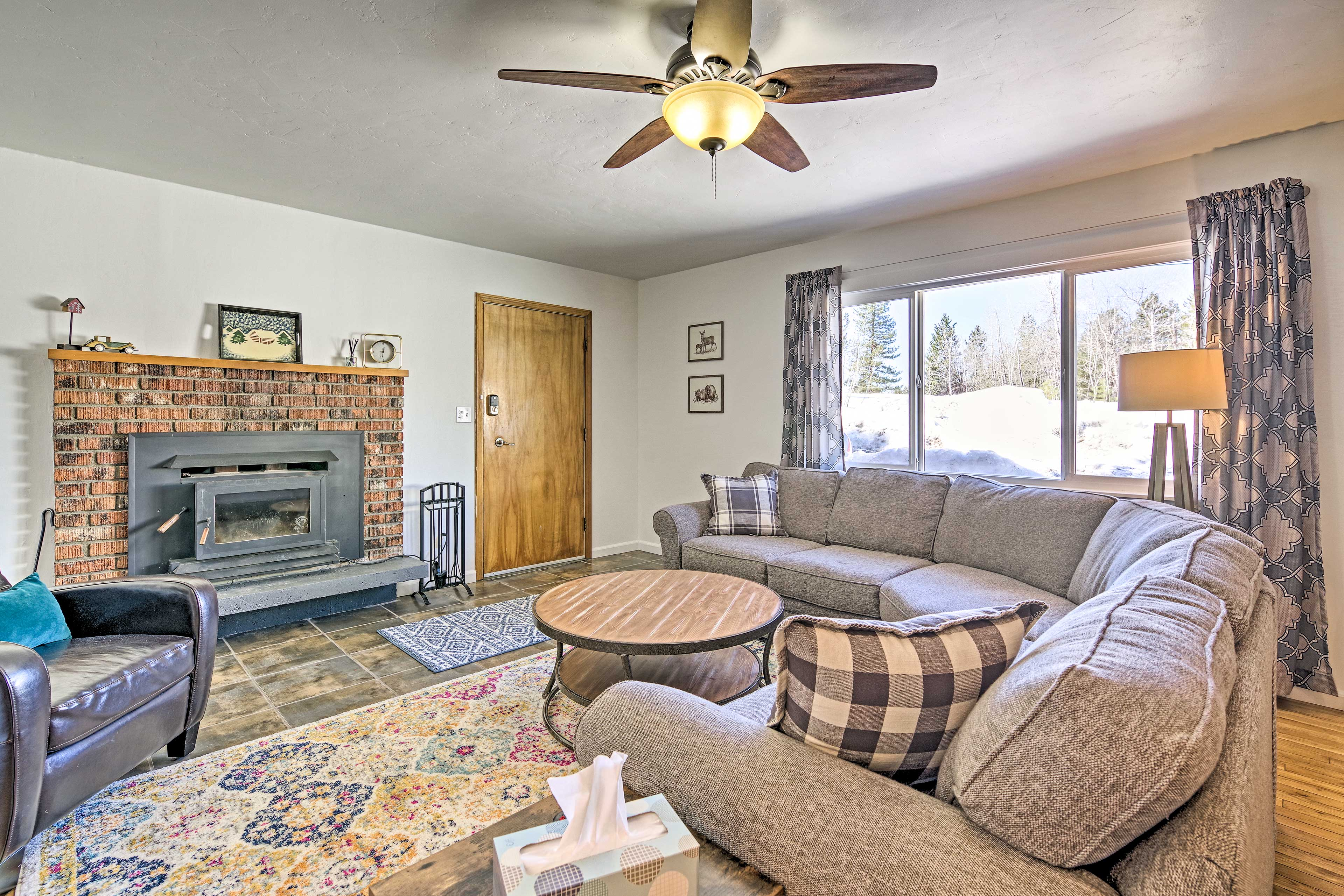 Book your next outdoorsy escape to this updated McCall vacation rental!