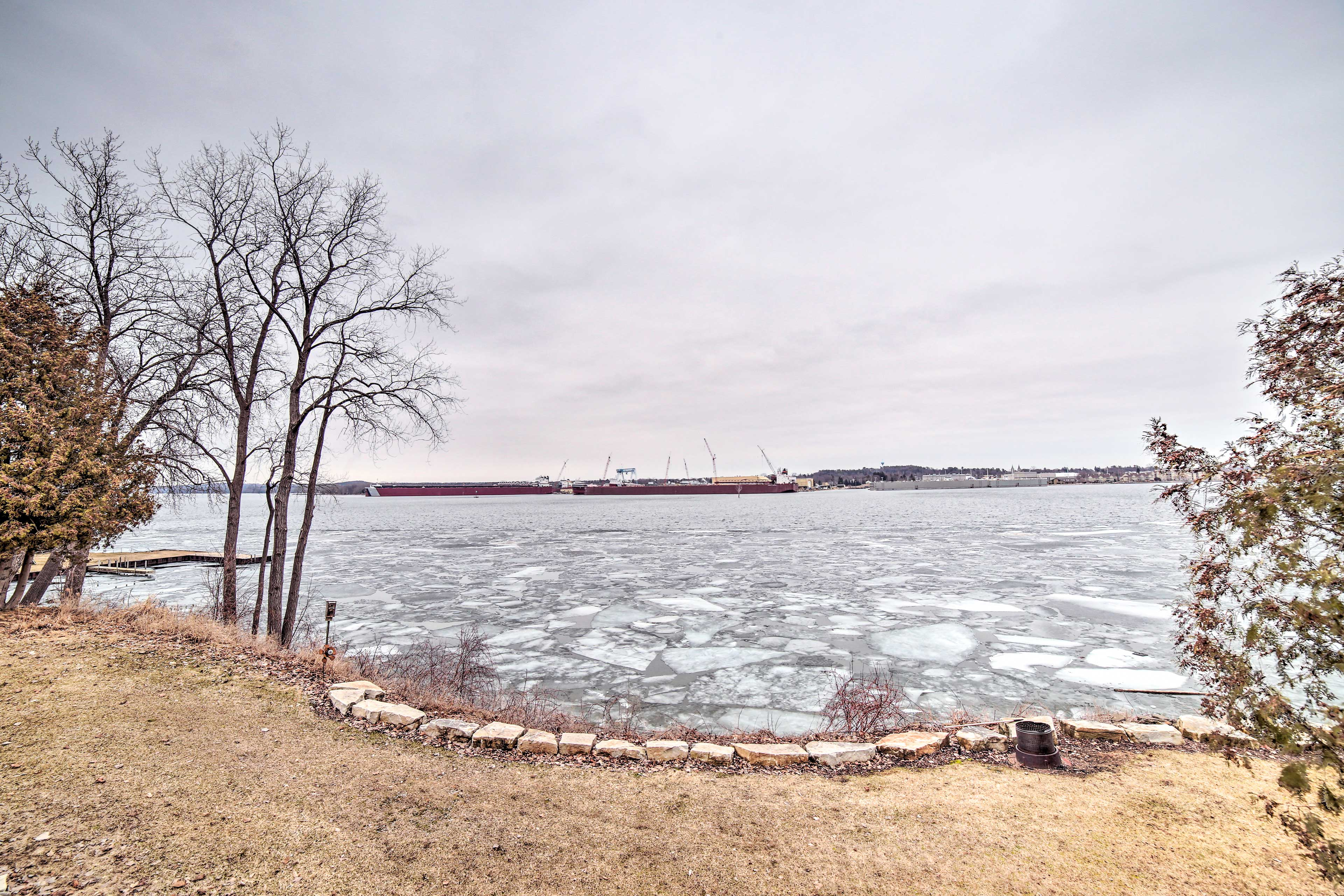 Take a short stroll down to the Sturgeon Bay waterfrornt!