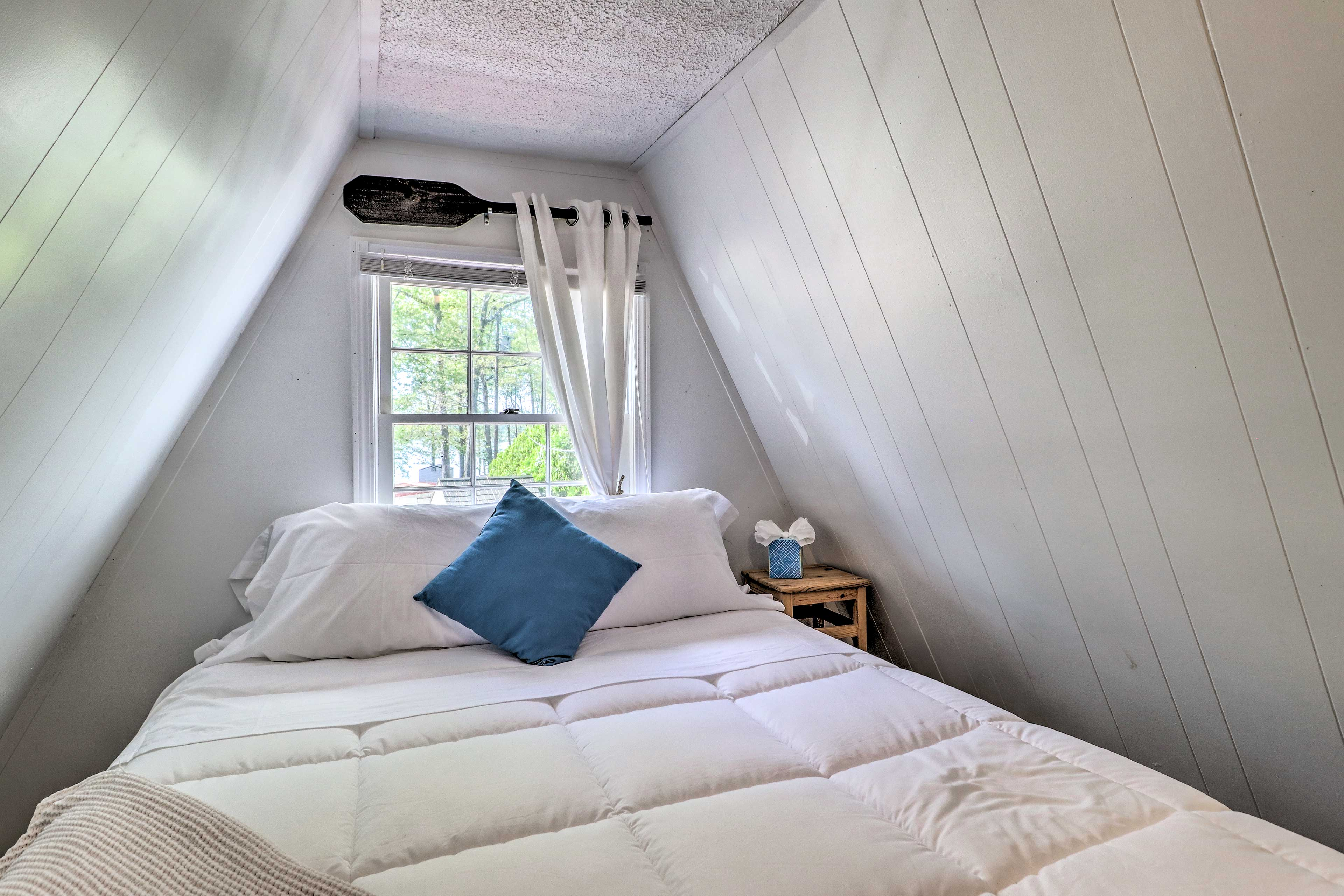 2 can nap in this cozy bedroom.