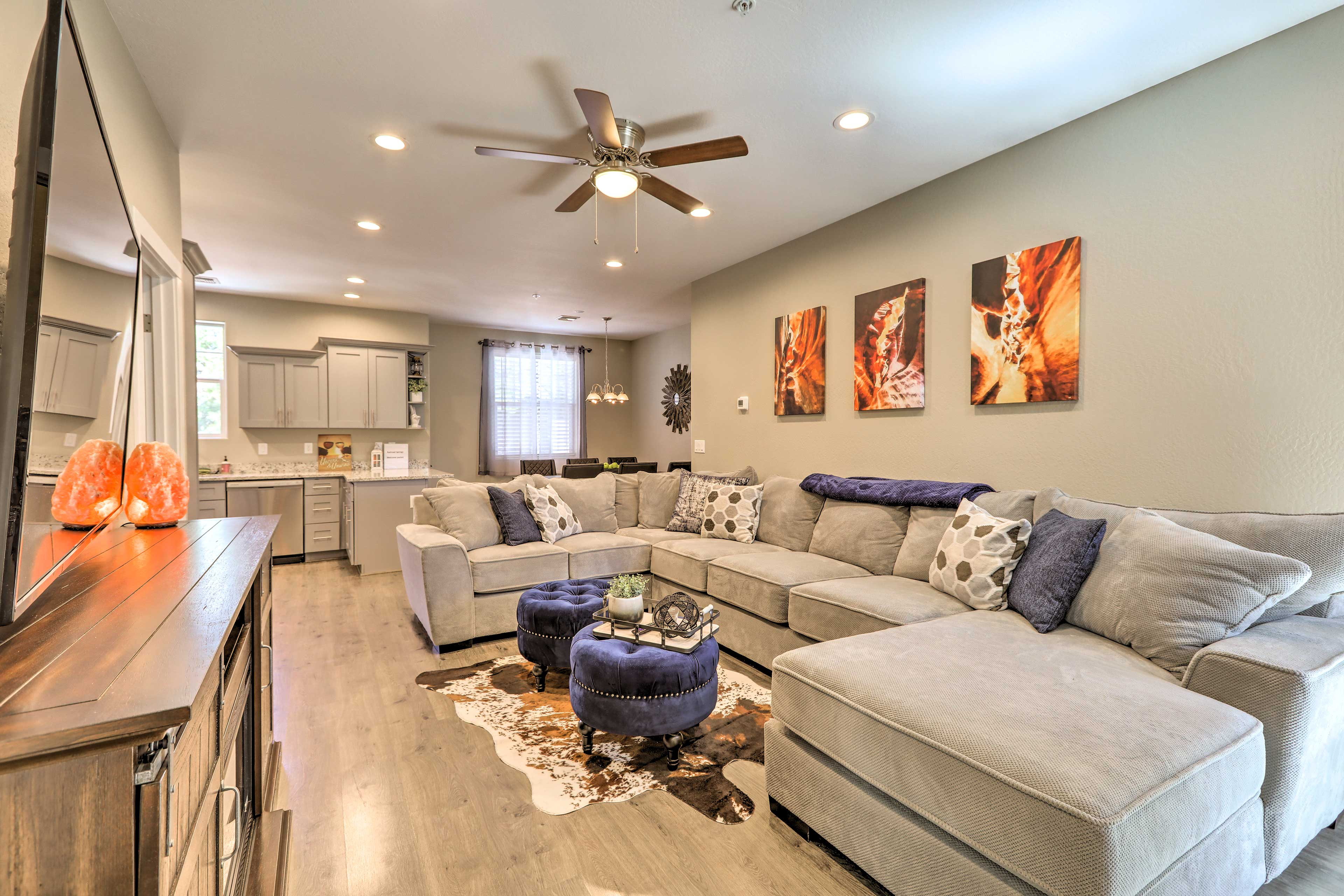 Escape to an upscale retreat in Flagstaff at this vacation rental townhome!