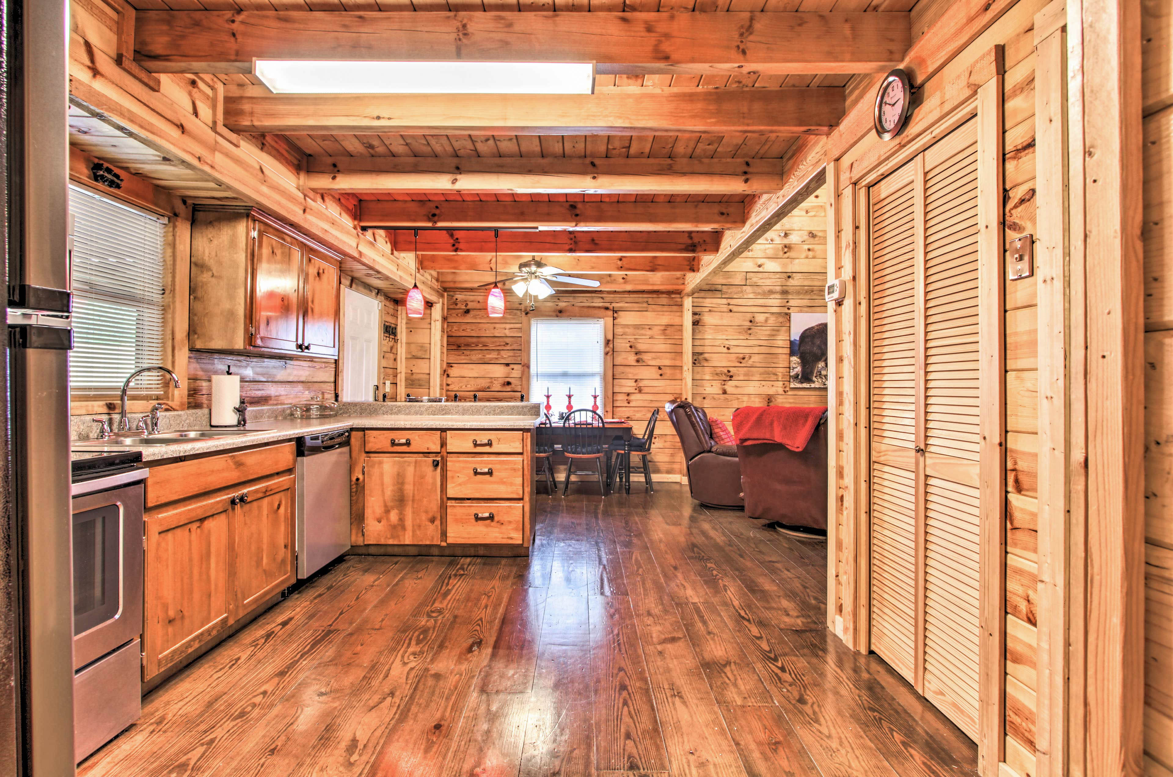 You'll have plenty of room to cook your favorite meals!