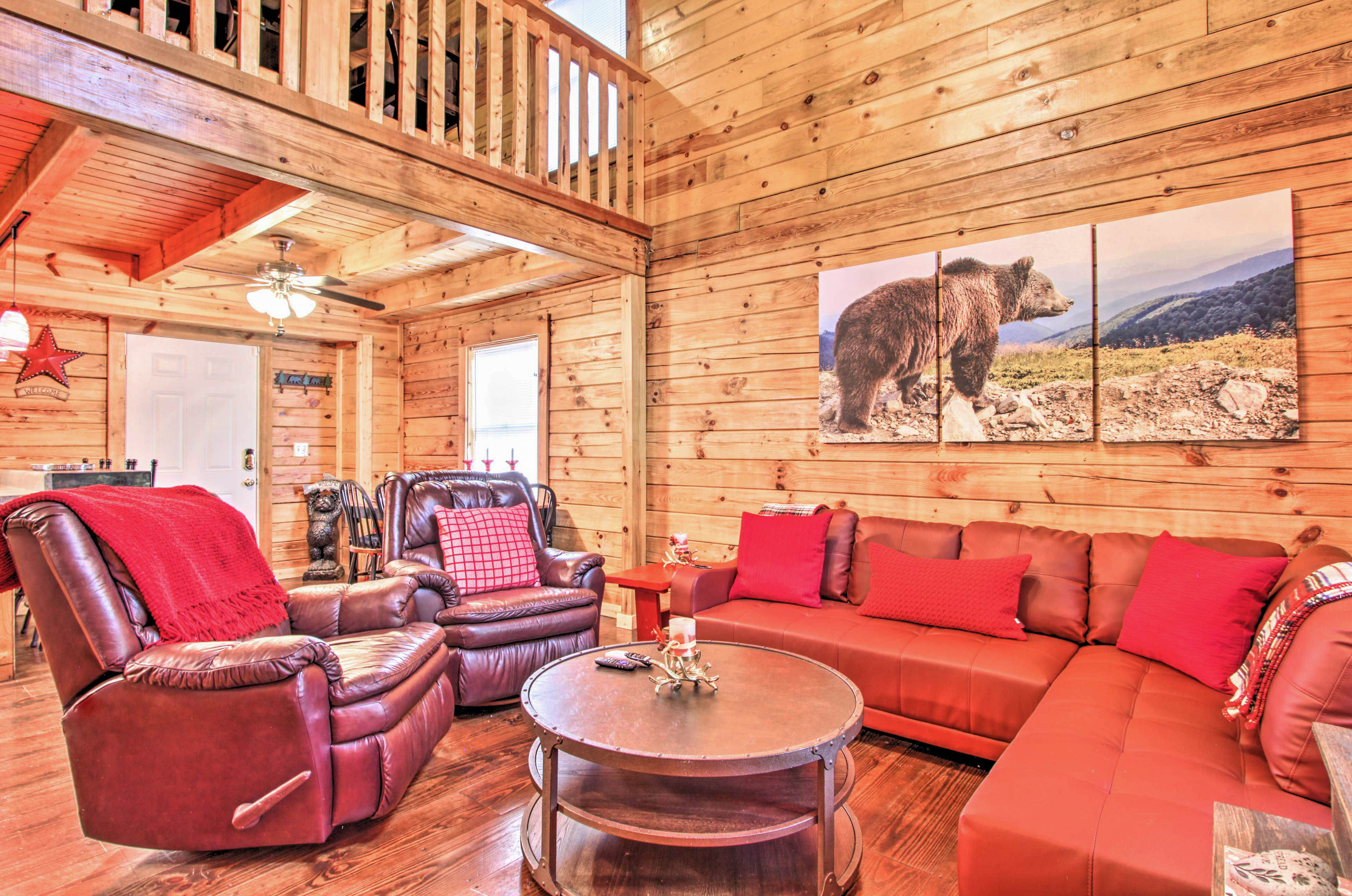 The mountains are calling you to this stunning vacation rental!