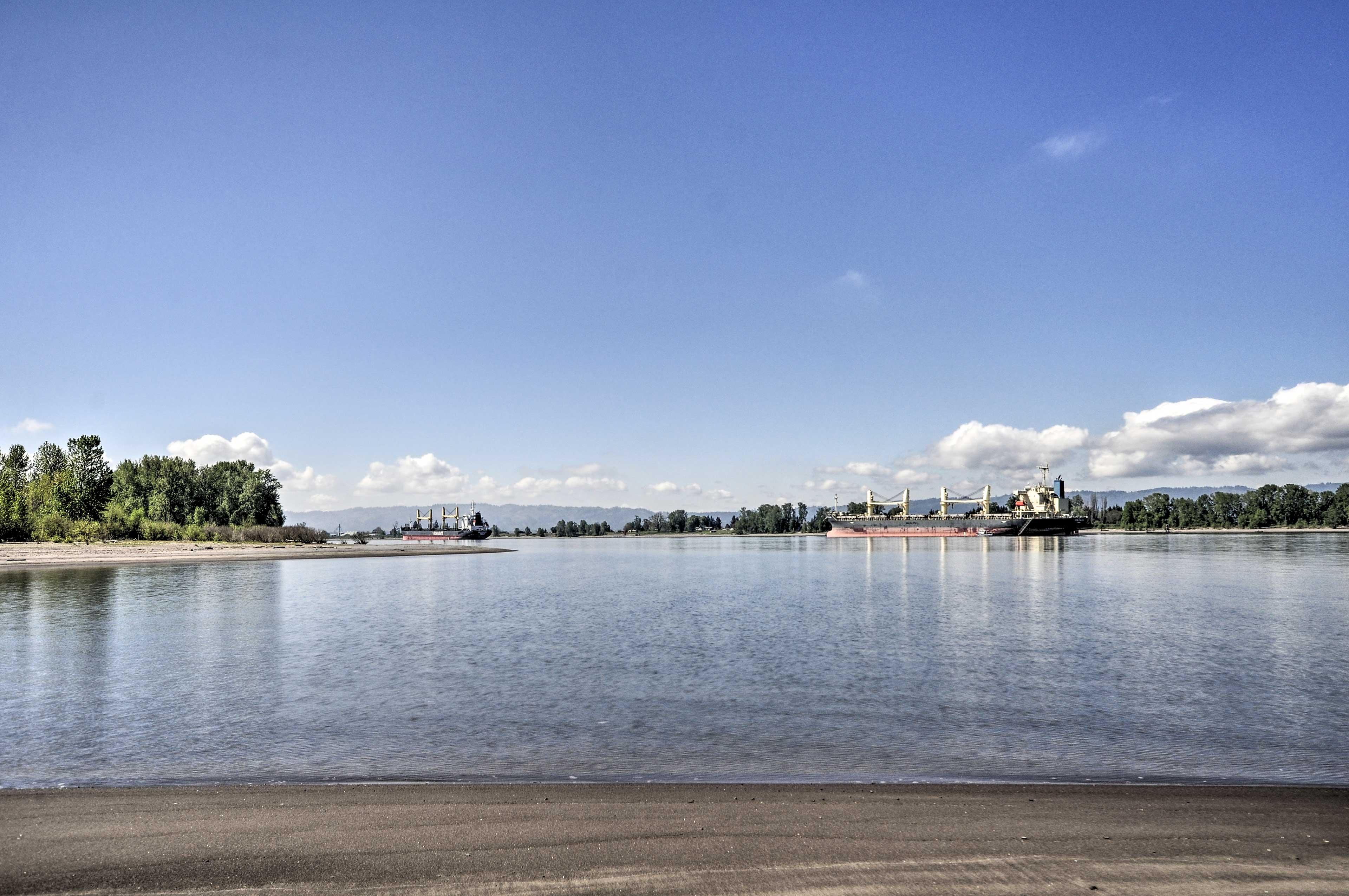 Kids will love splashing around on Caterpillar Island's sandy shoreline!