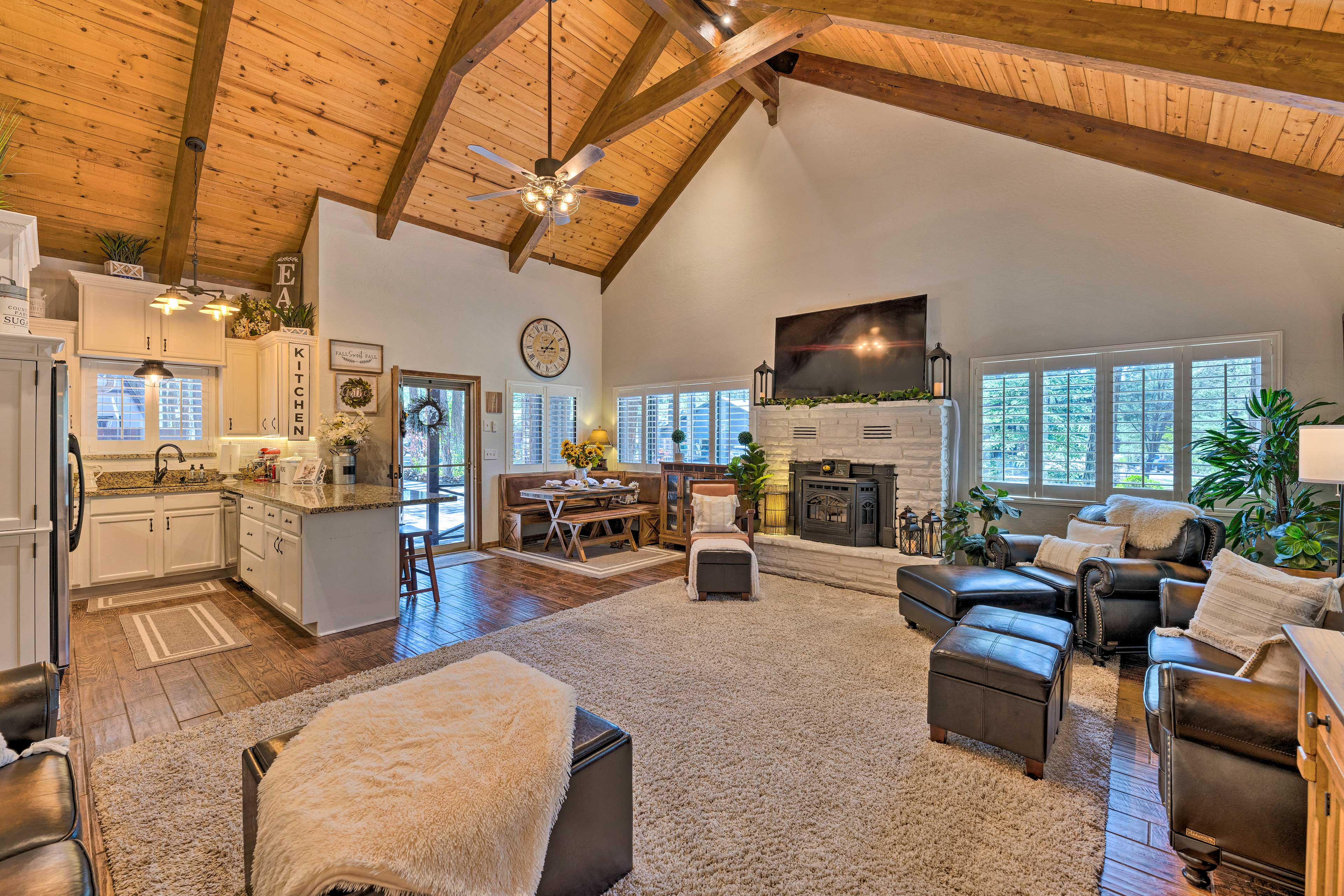 This living space is perfect for spending quality time together.