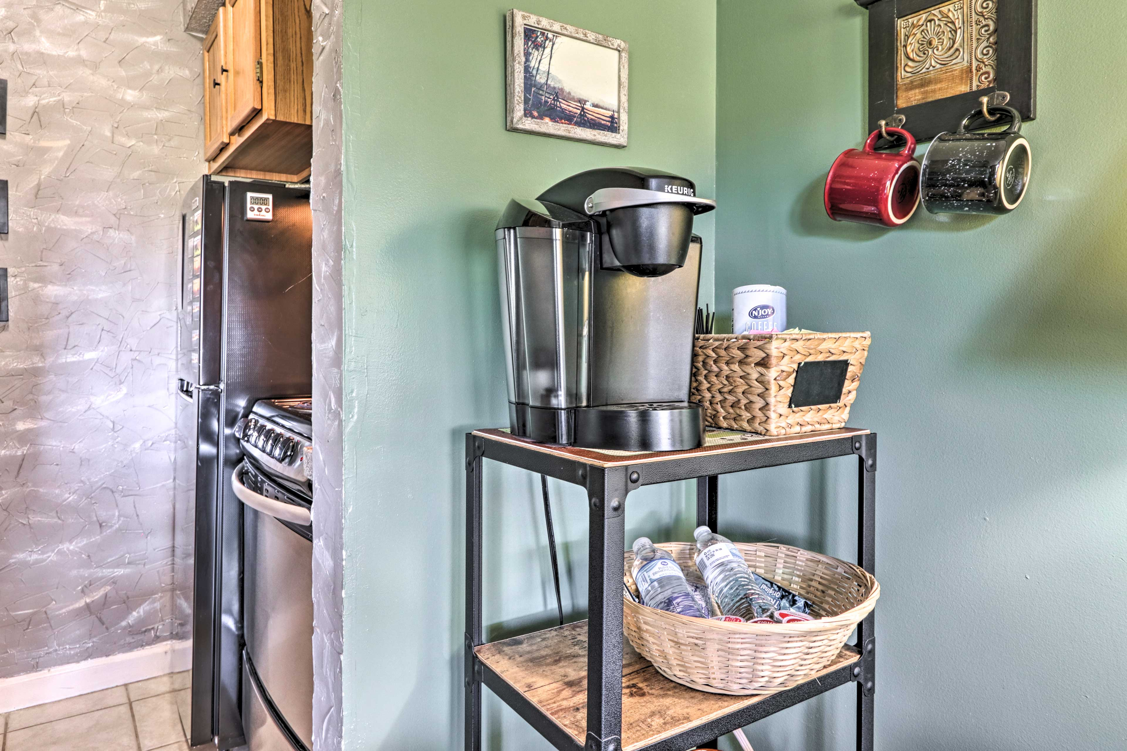 Rise and shine with coffee from the Keurig.