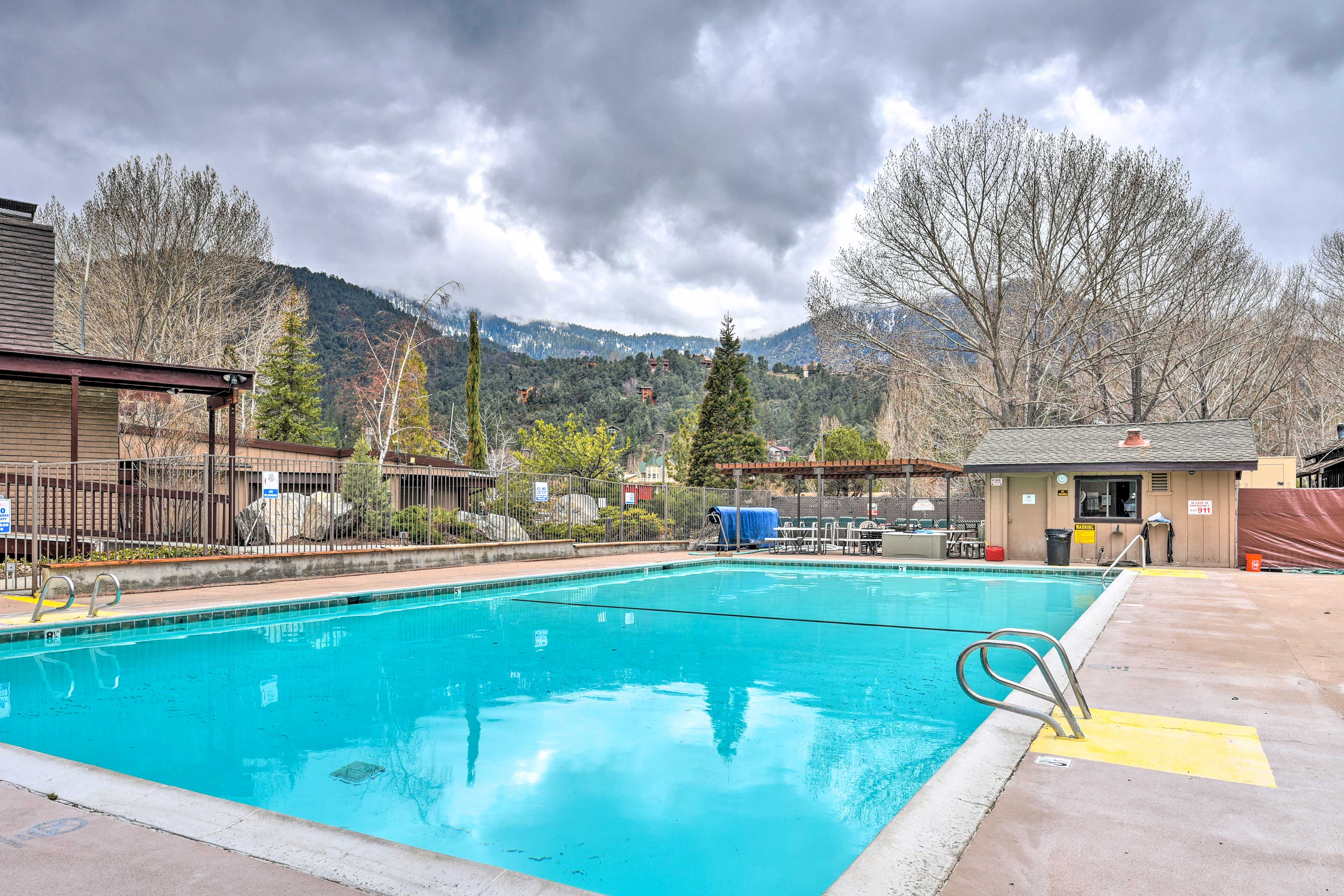 Splash right into a day of fun down at the Pine Mountain Club's community pool.