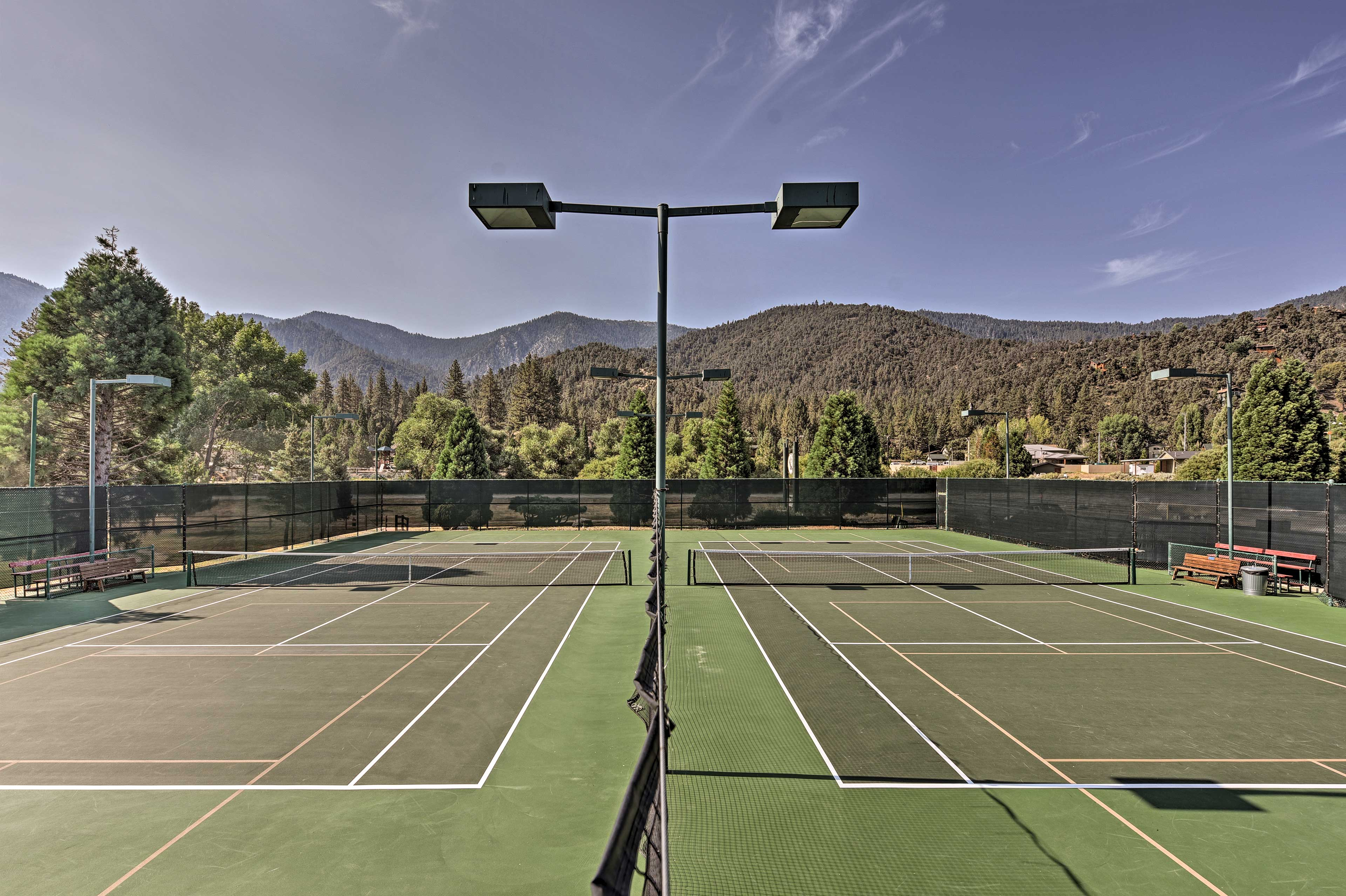 Don't forget to pack your tennis rackets!