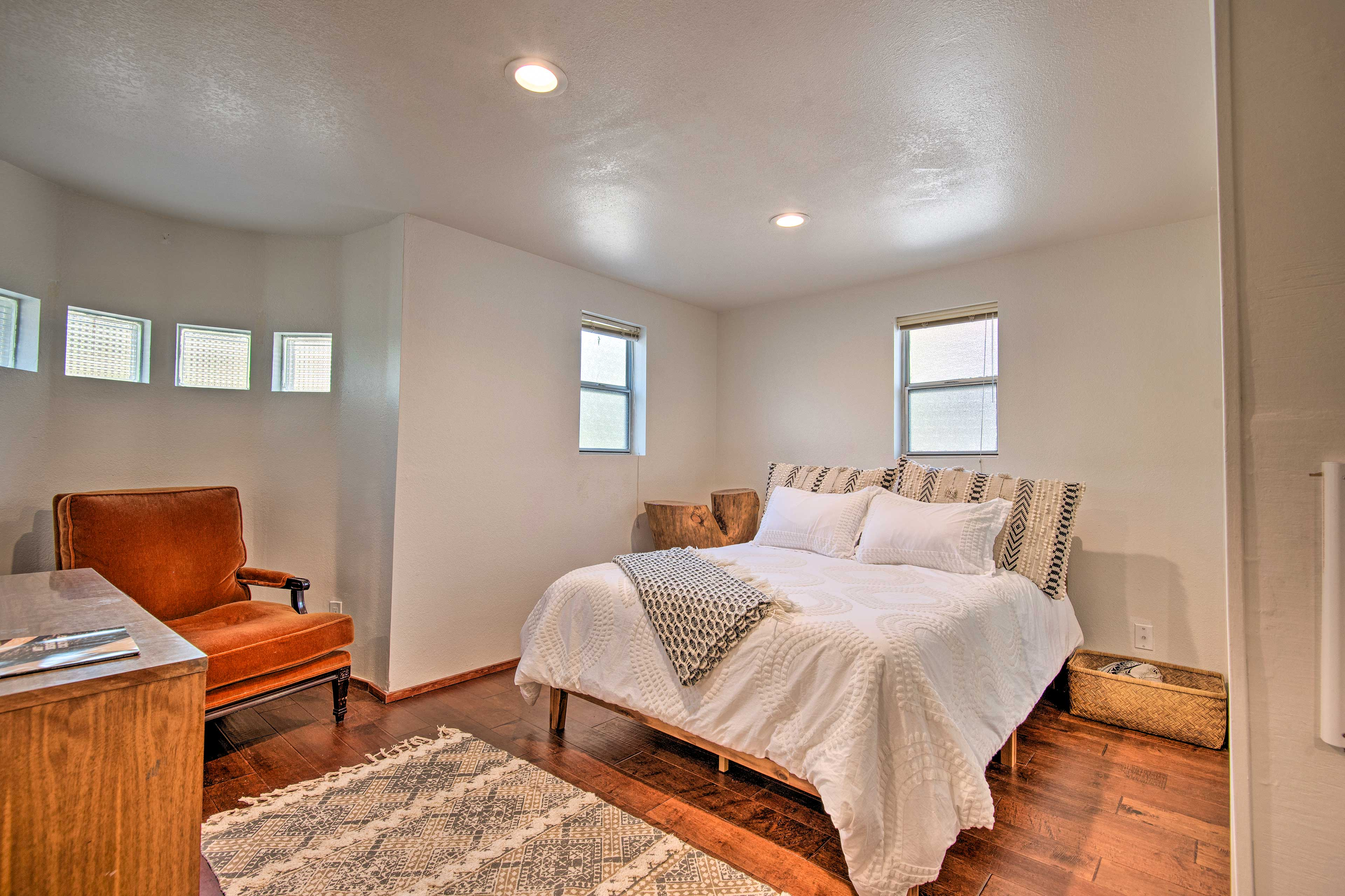 The third bedroom doubles as a private studio suite - great for couples!