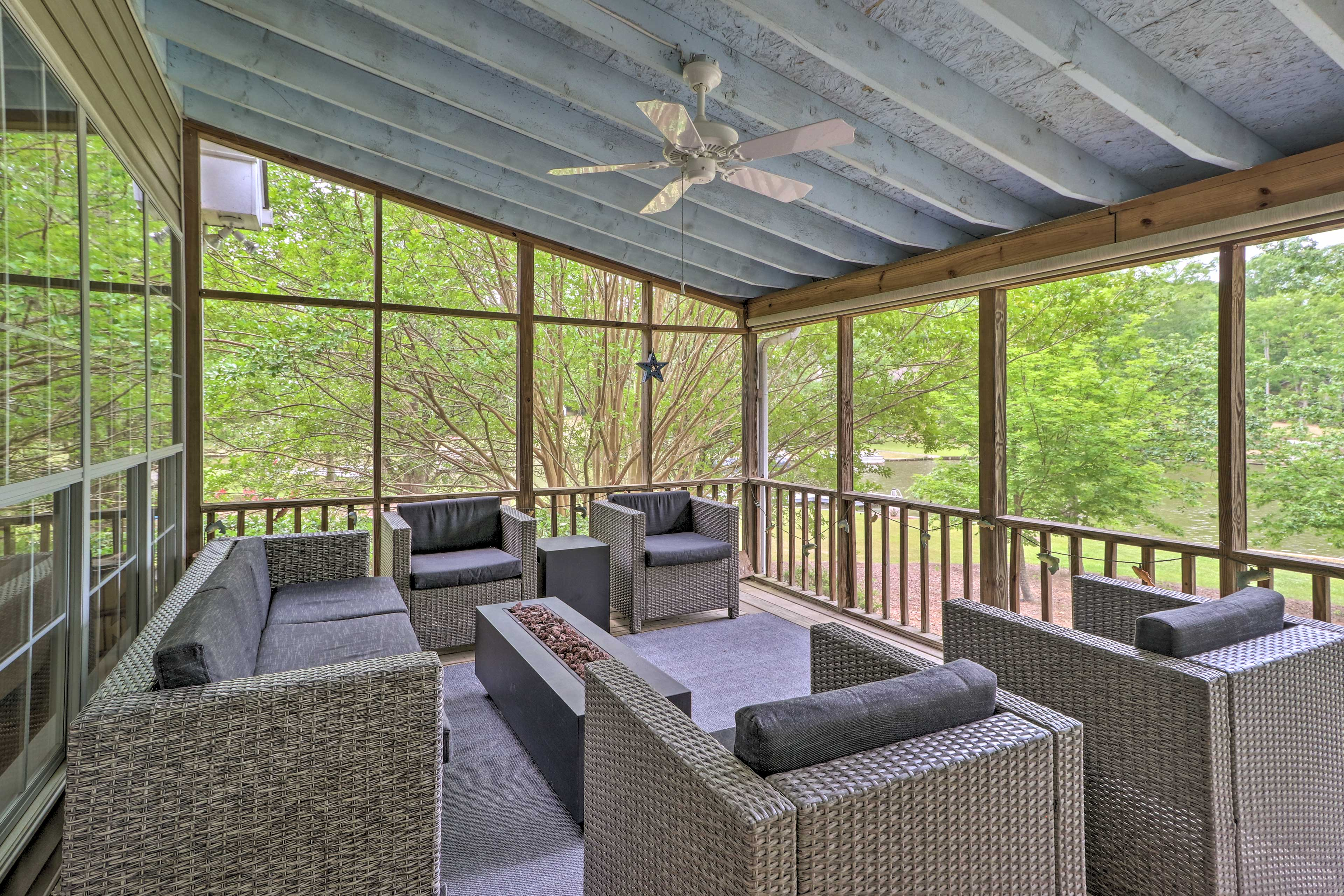Eatonton Vacation Rental | 4BR | 3.5BA | 1,796 Sq Ft | Stairs Required
