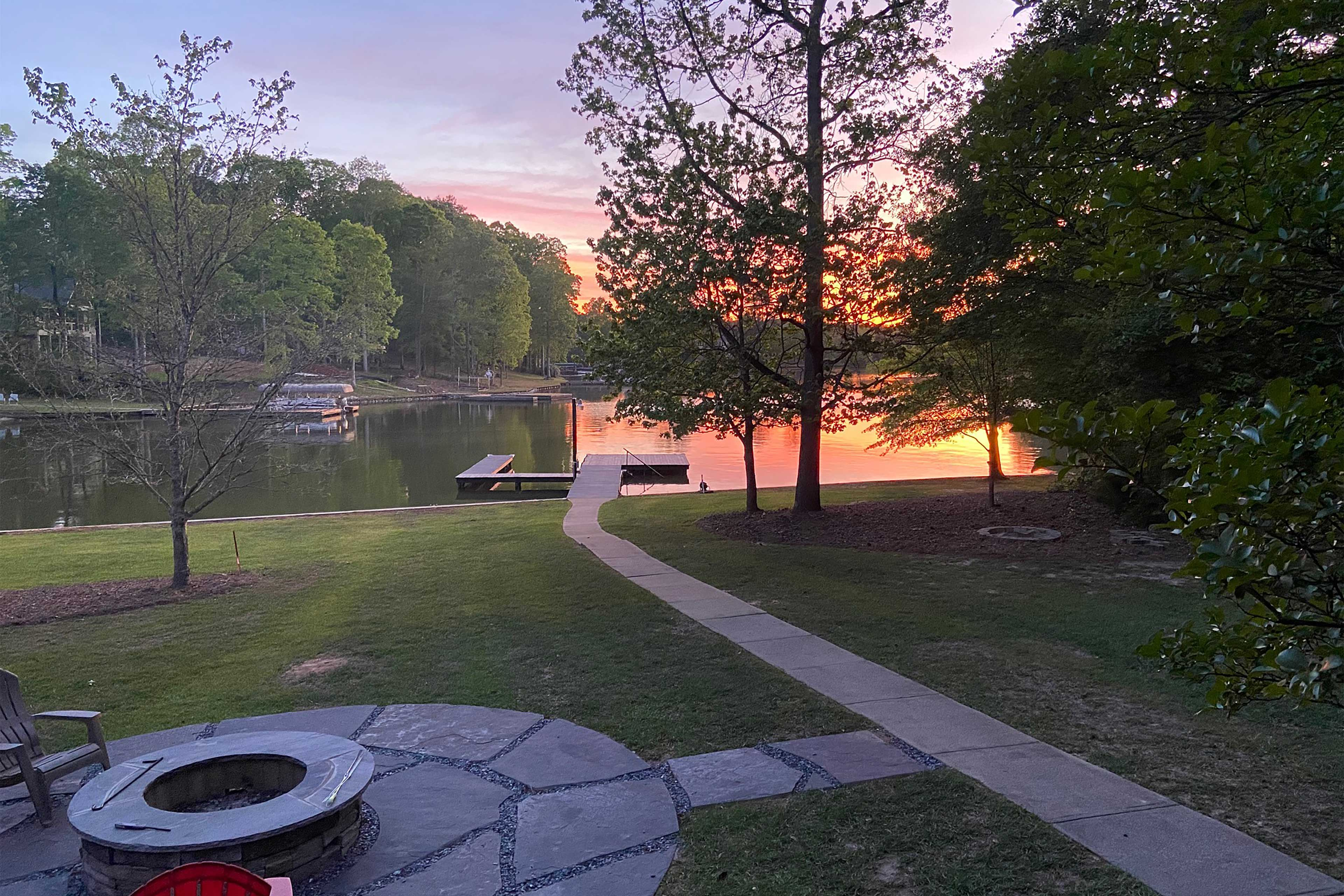 Property Exterior | Private Dock | Fire Pit