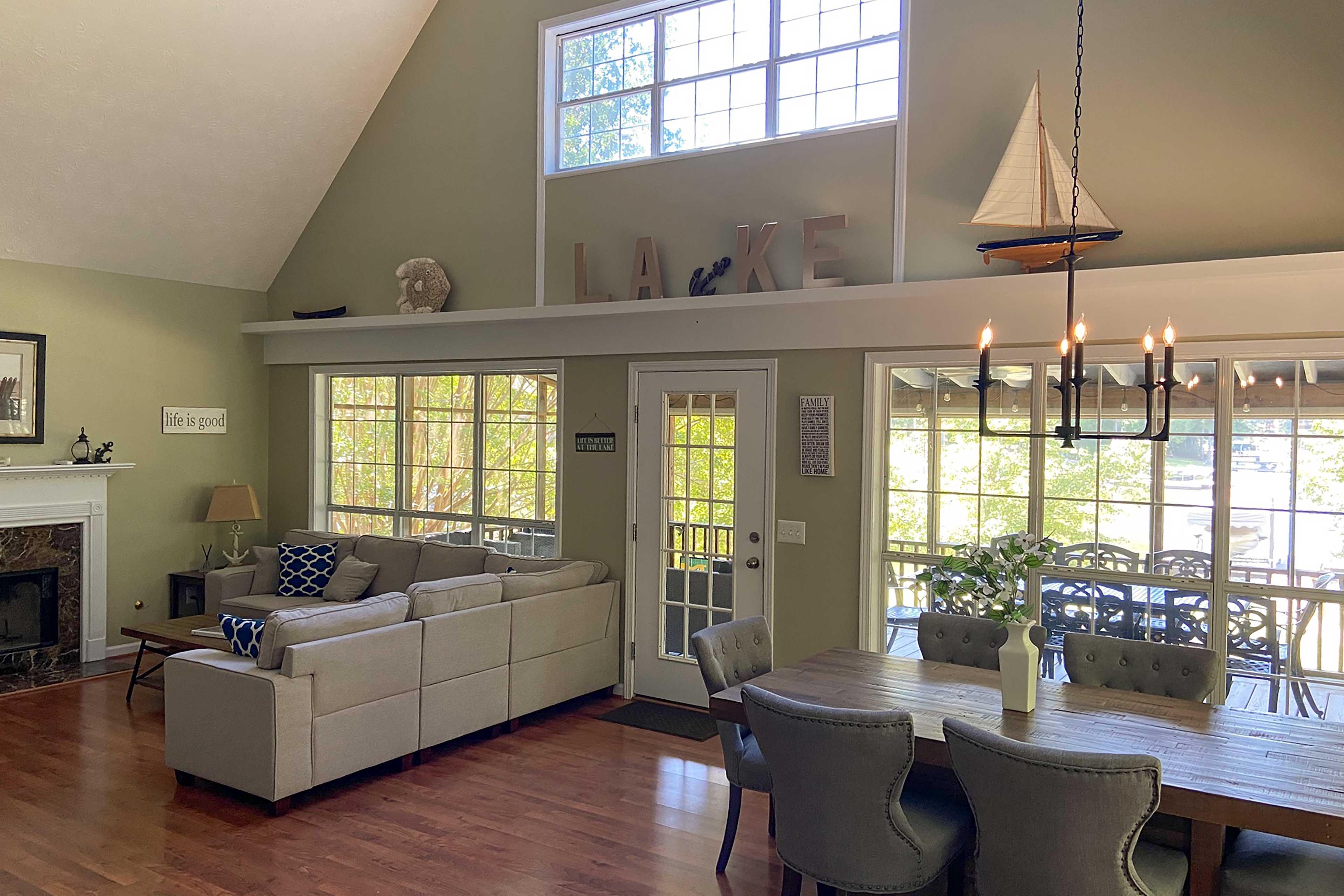 Property Interior | Open Floor Plan