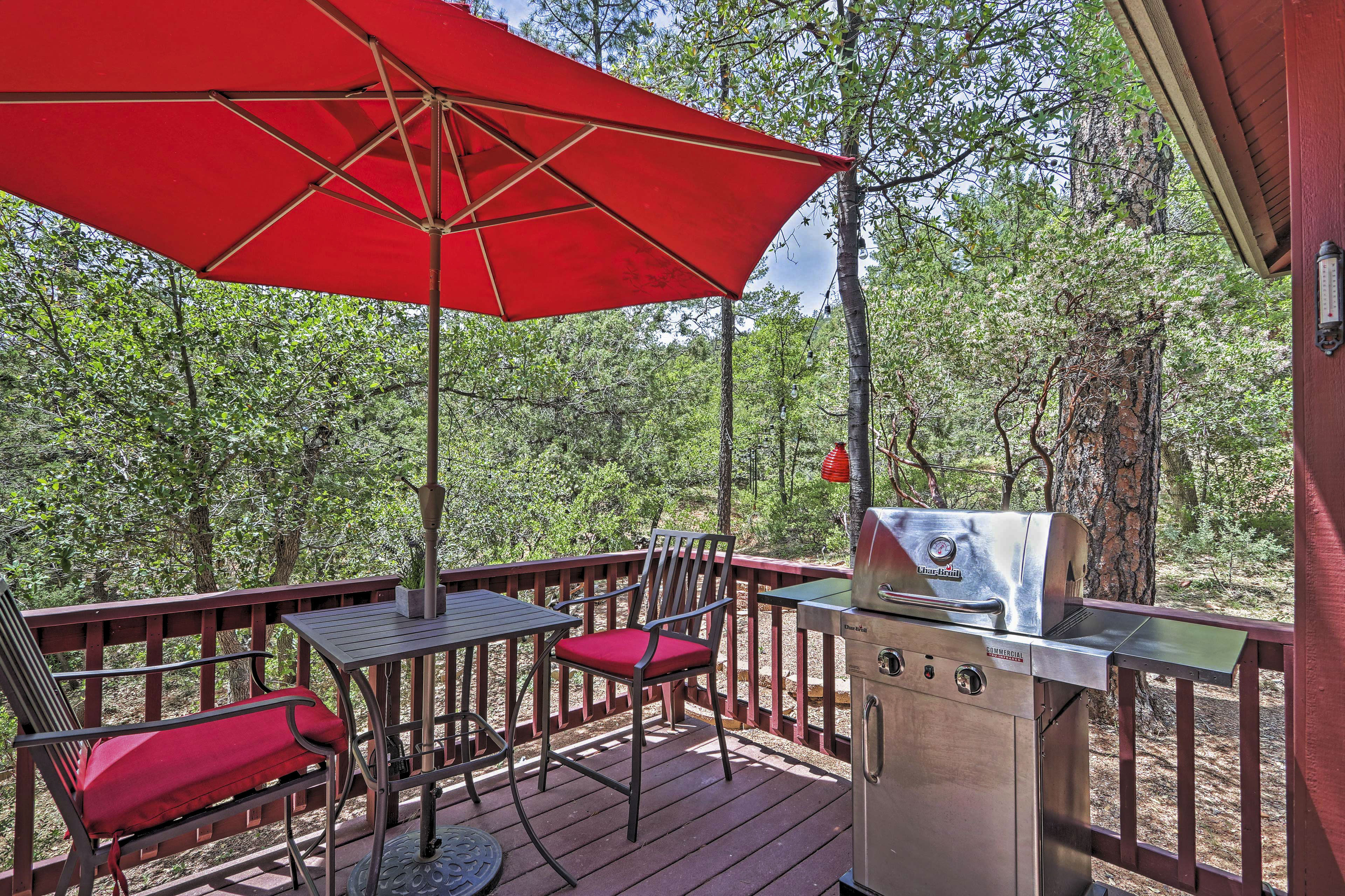 Private Exterior Space / Gas Grill / Outdoor Dining / Fire Pit / Patio Furniture