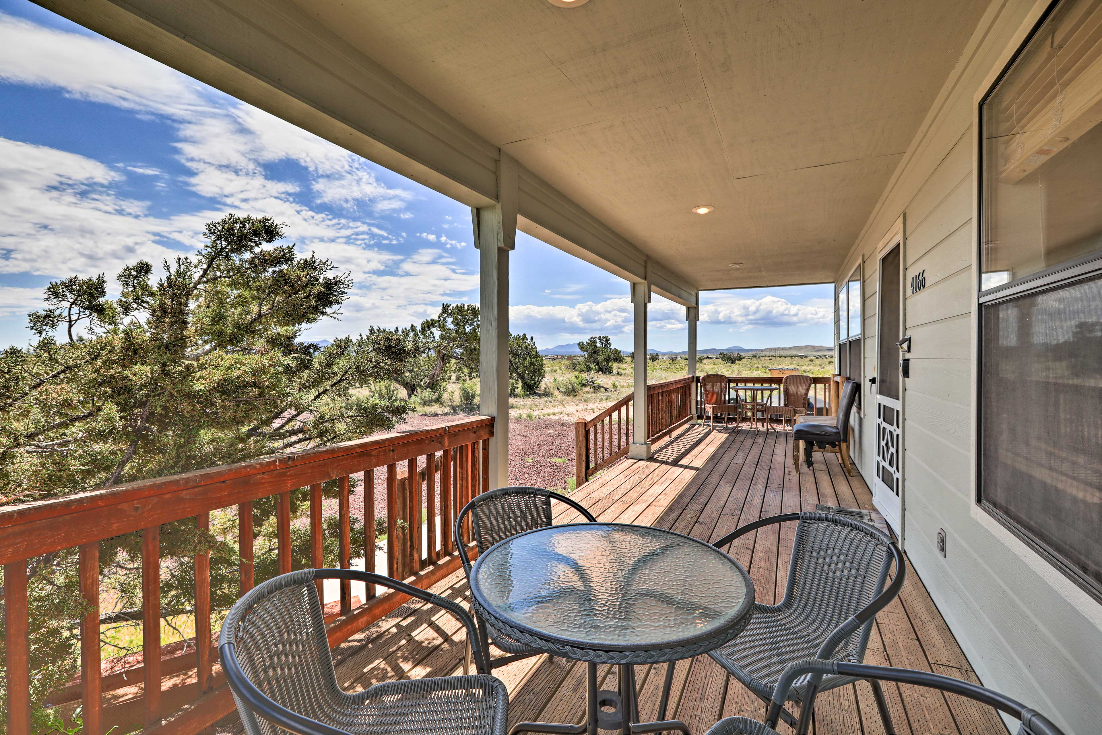 Williams Vacation Rental | 3BR | 2BA | 2 Stories | 1,340 Sq Ft